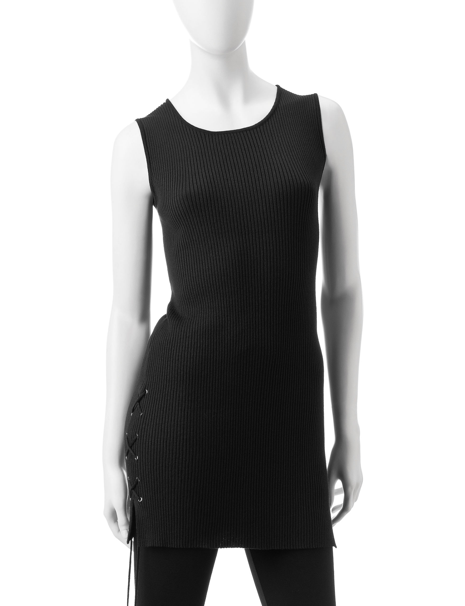 Made for Me to Look Amazing Black Tunics