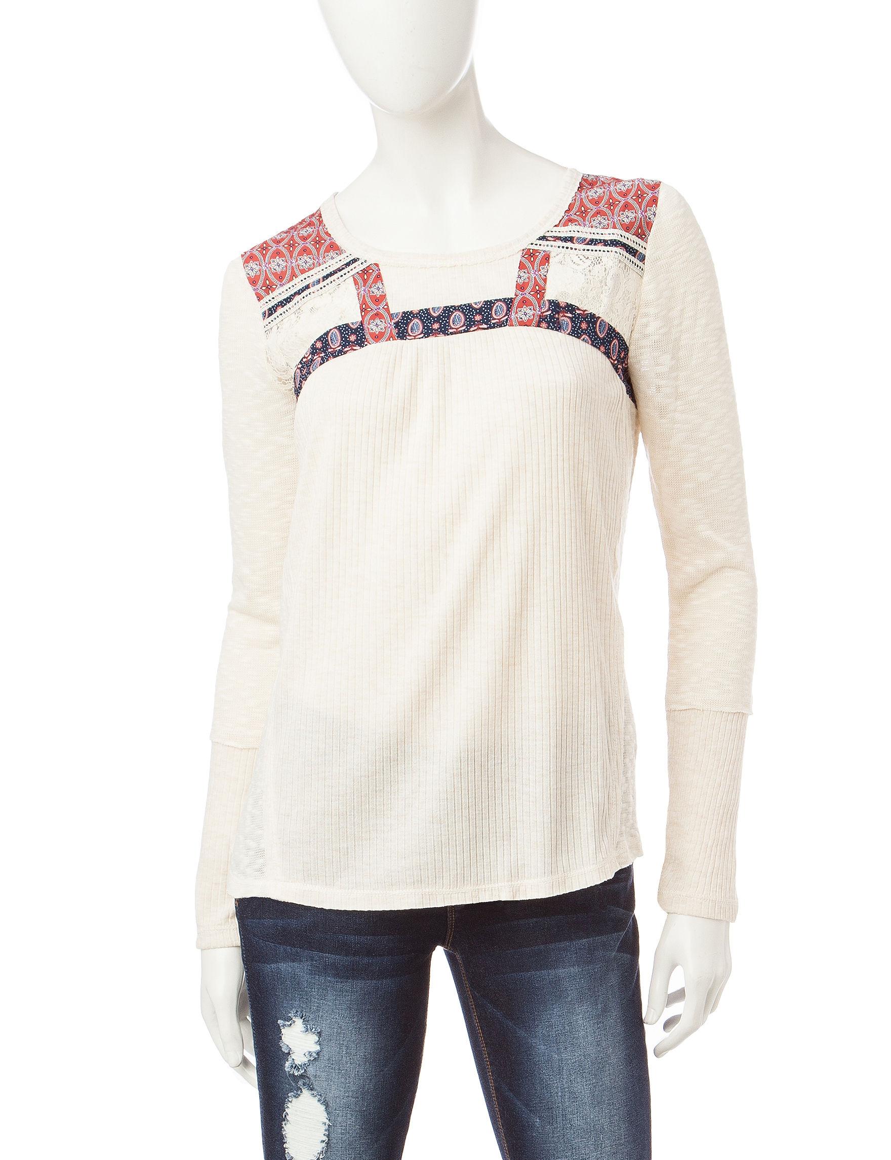 Jolt White Shirts & Blouses