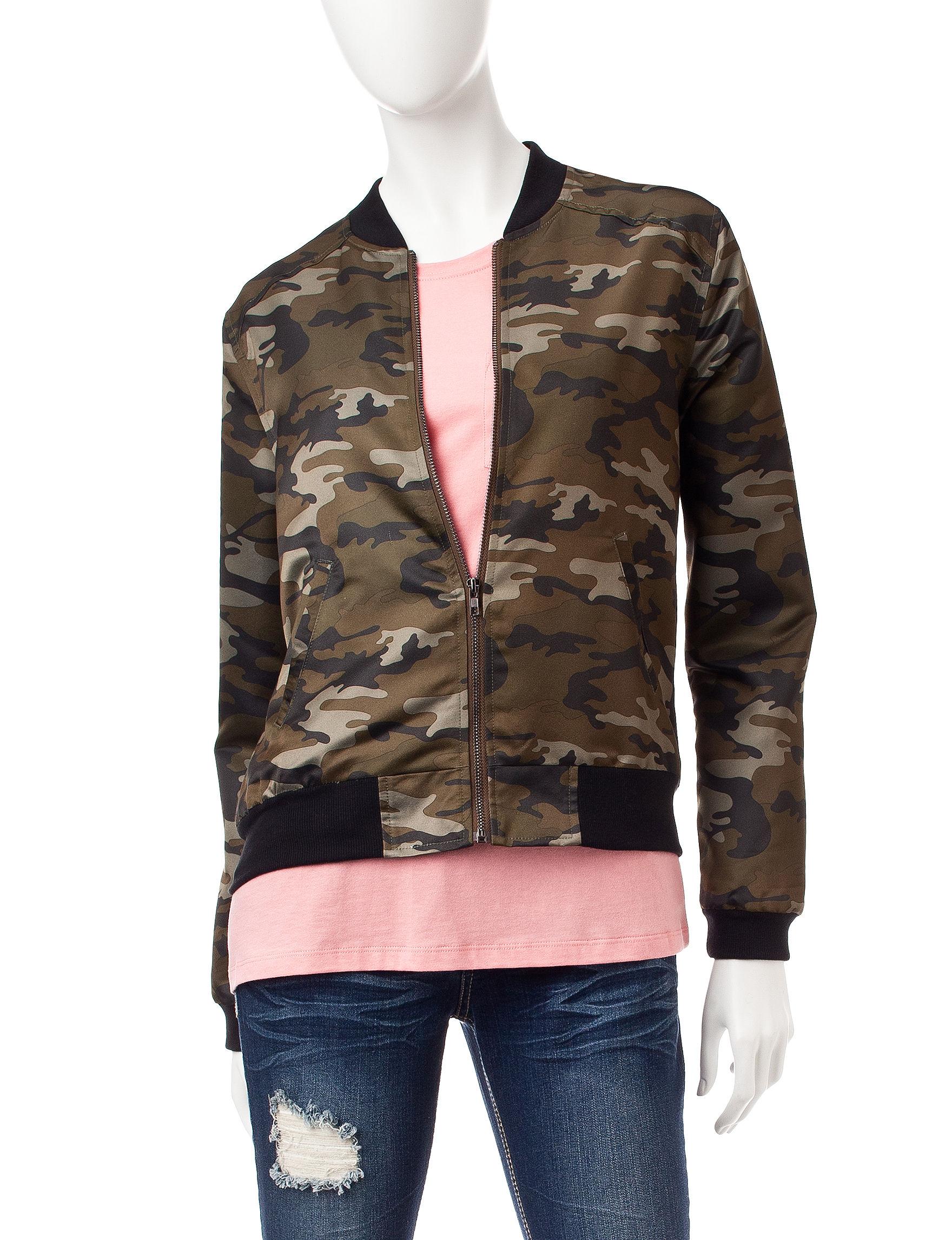 Justify Green Lightweight Jackets & Blazers