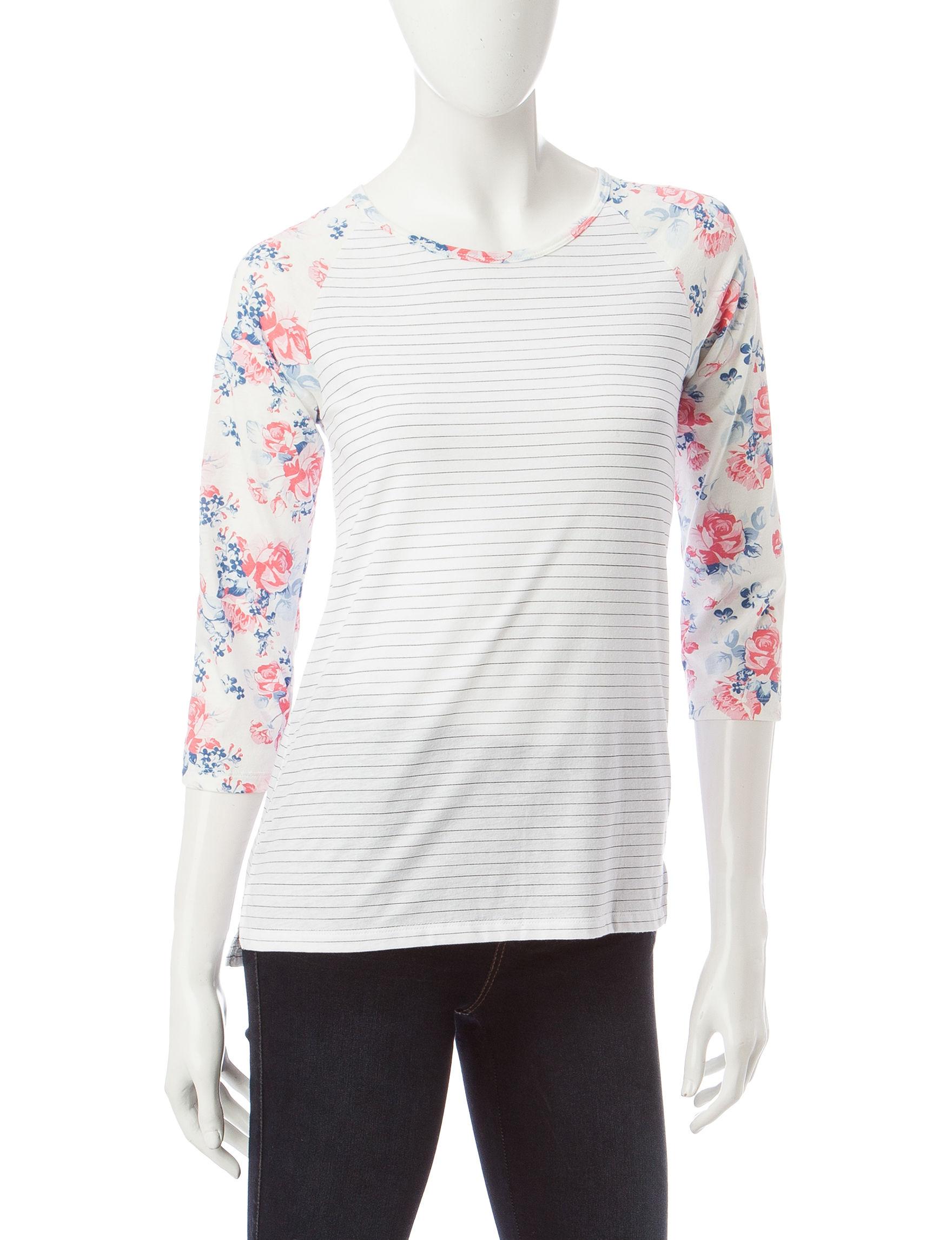 Wishful Park White Shirts & Blouses