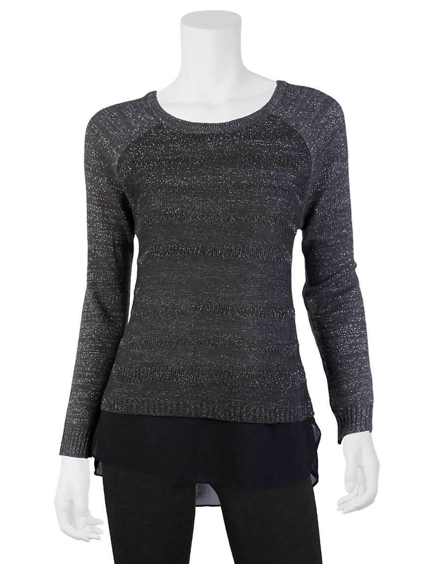 A. Byer Charcoal Pull-overs