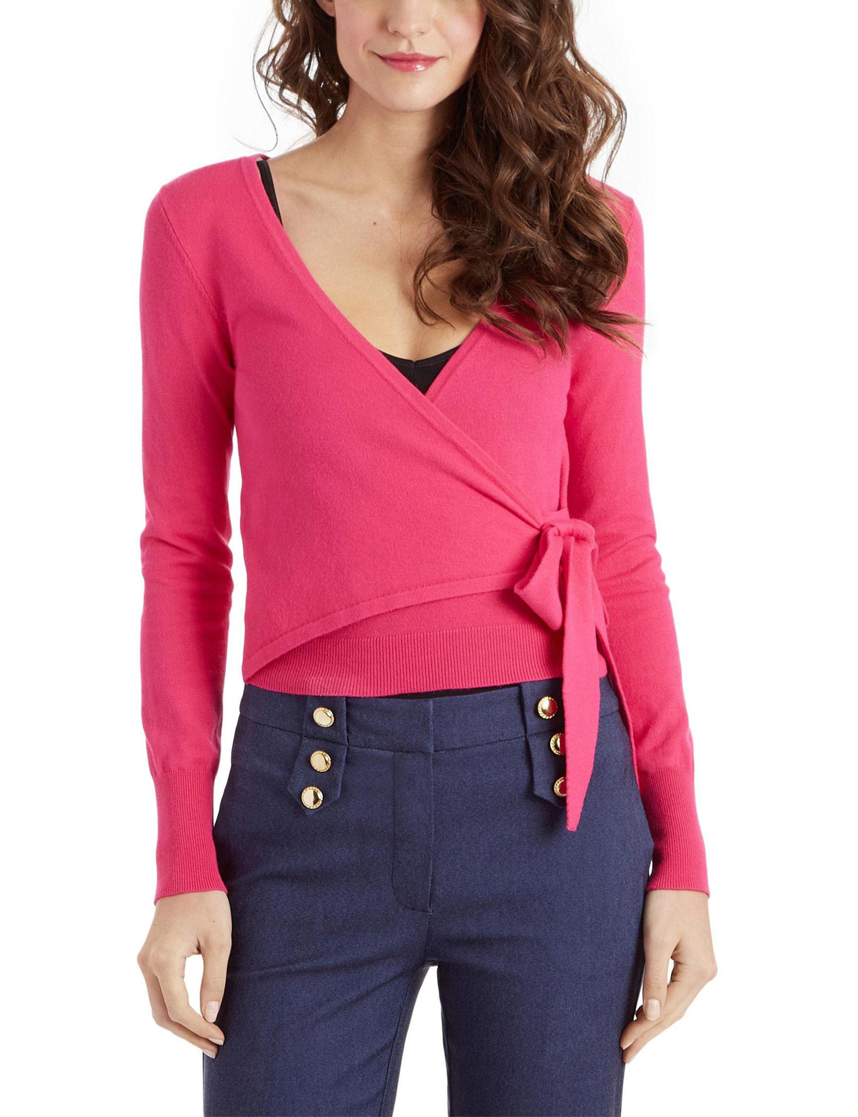 XOXO Pink Cardigans