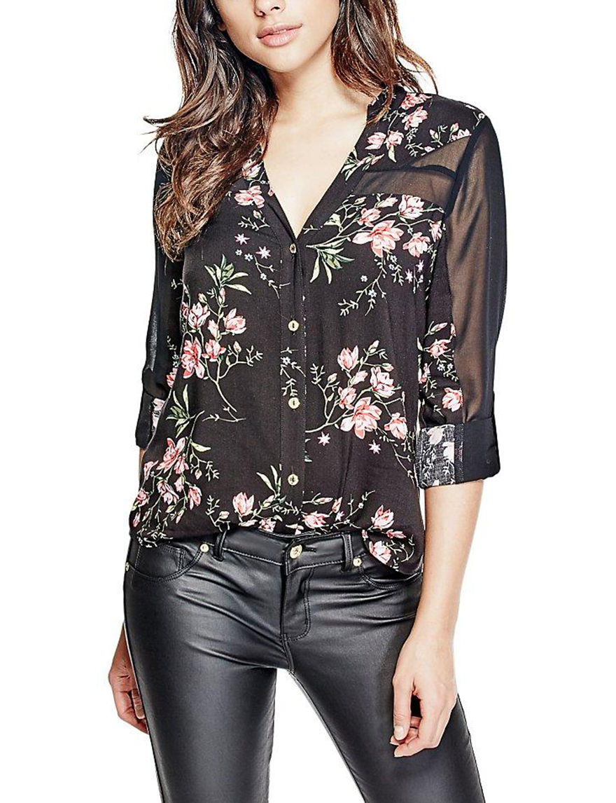 G by Guess Grey Shirts & Blouses