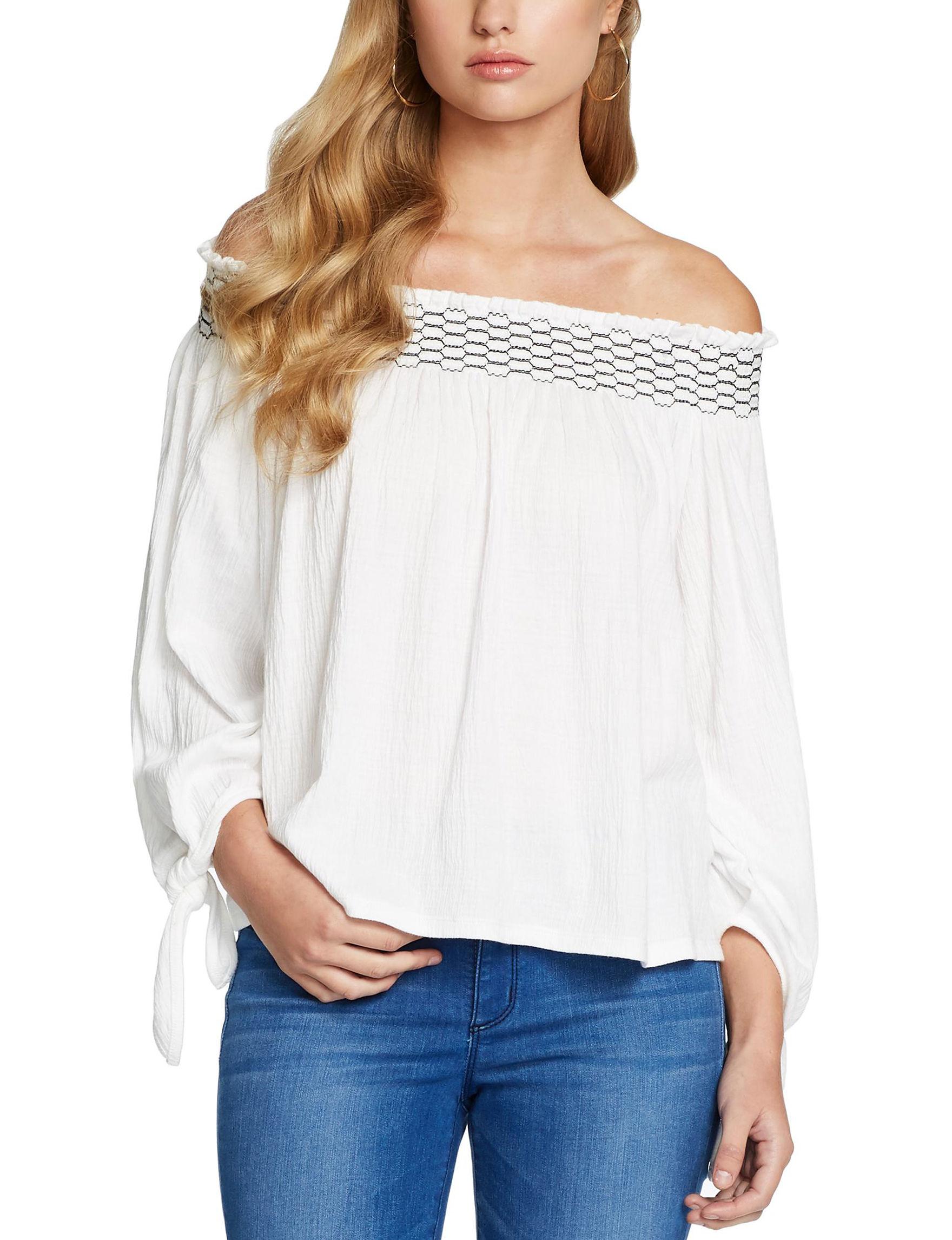 Jessica Simpson Beige Shirts & Blouses