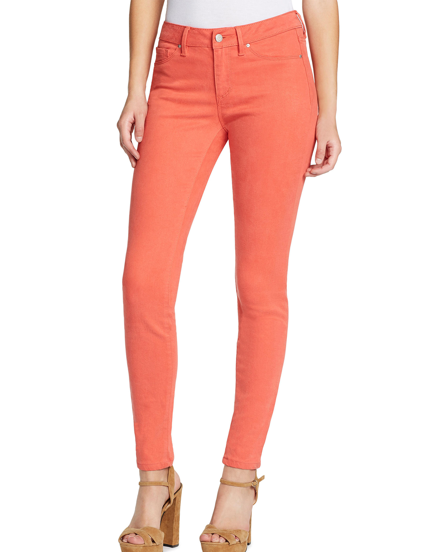 Jessica Simpson Orange Skinny
