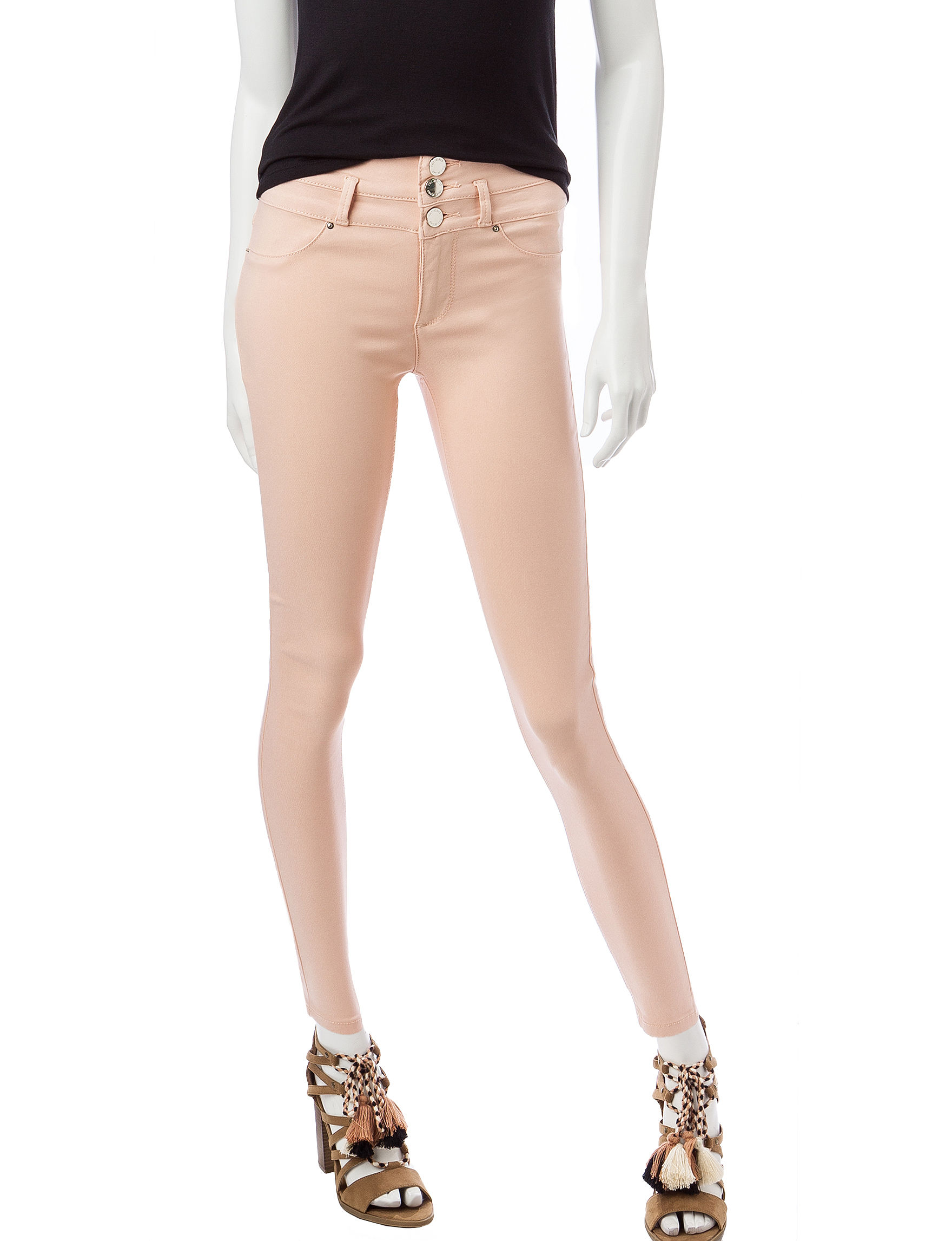 Wishful Park Pink Skinny Stretch