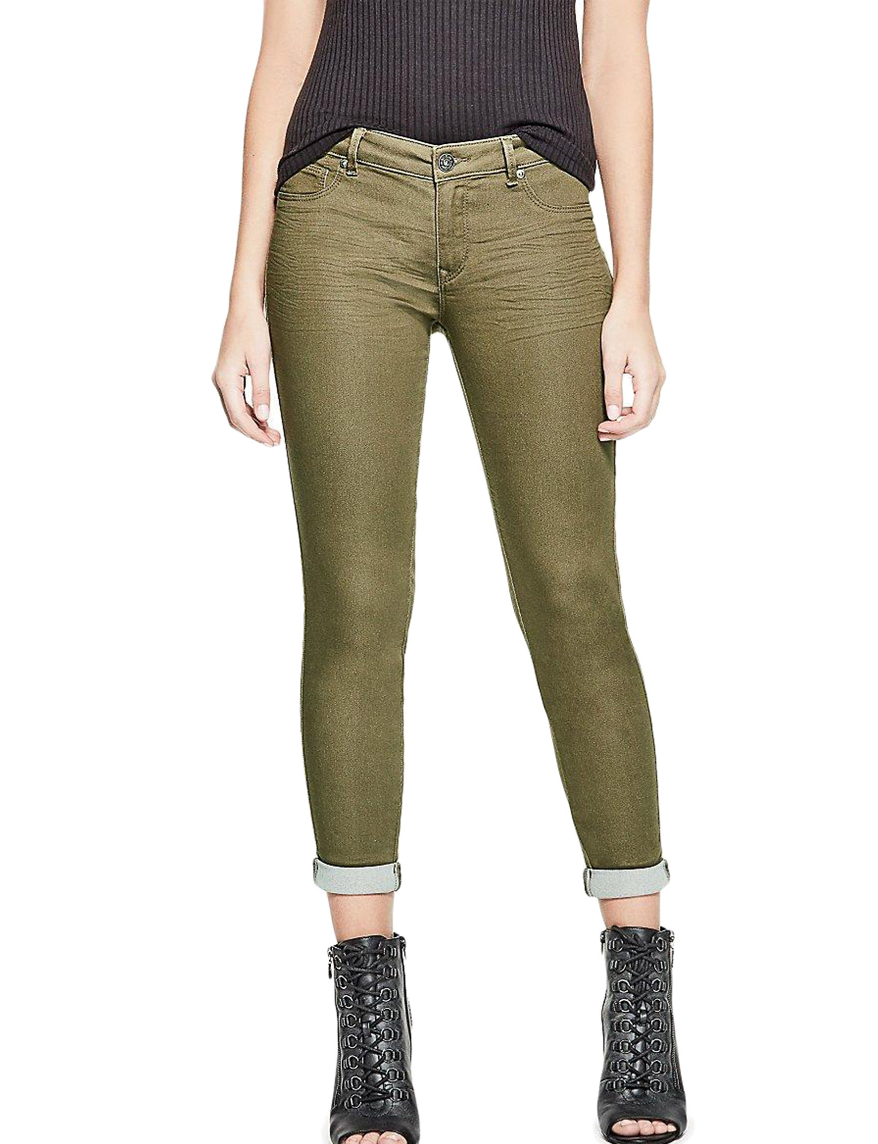 G by Guess Green Capris & Crops