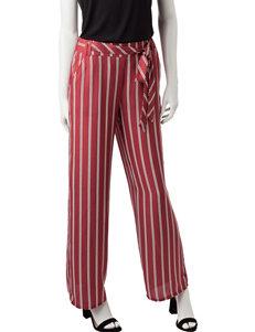 Joe Benbasset Striped Print Wide Leg Pants