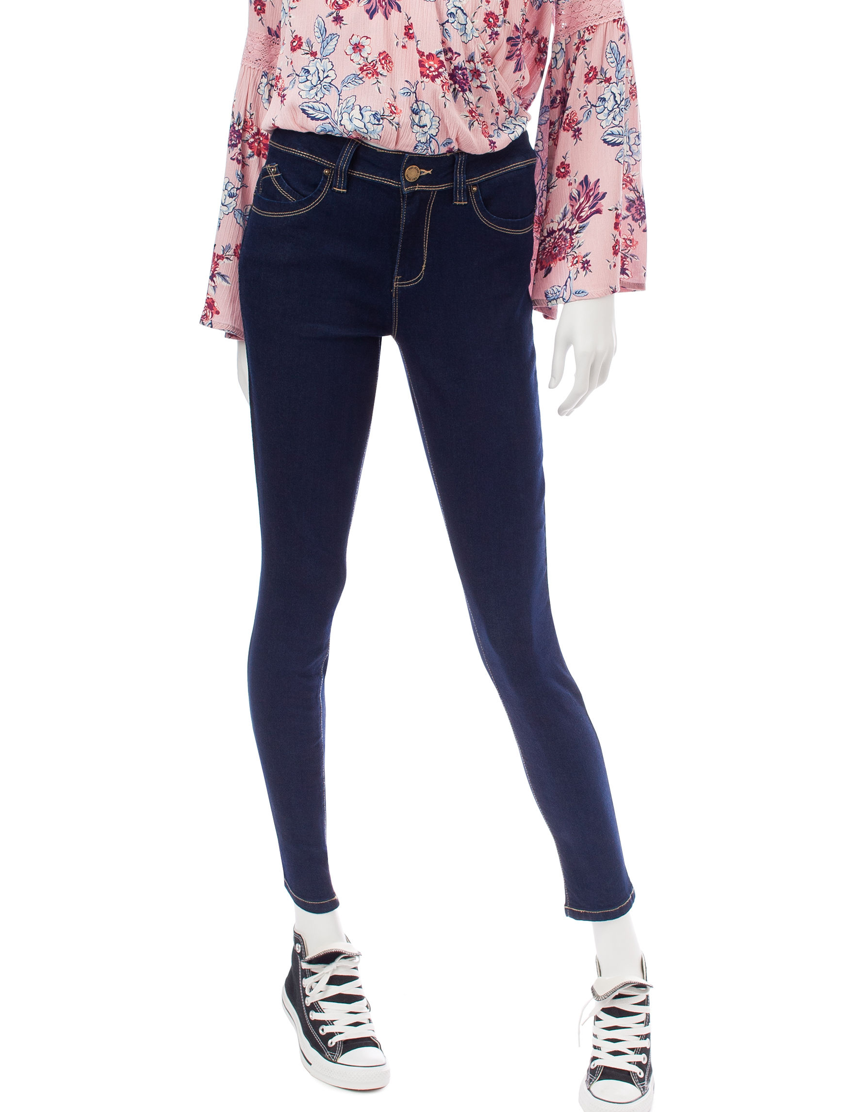 YMI Dark Blue Shaping Skinny