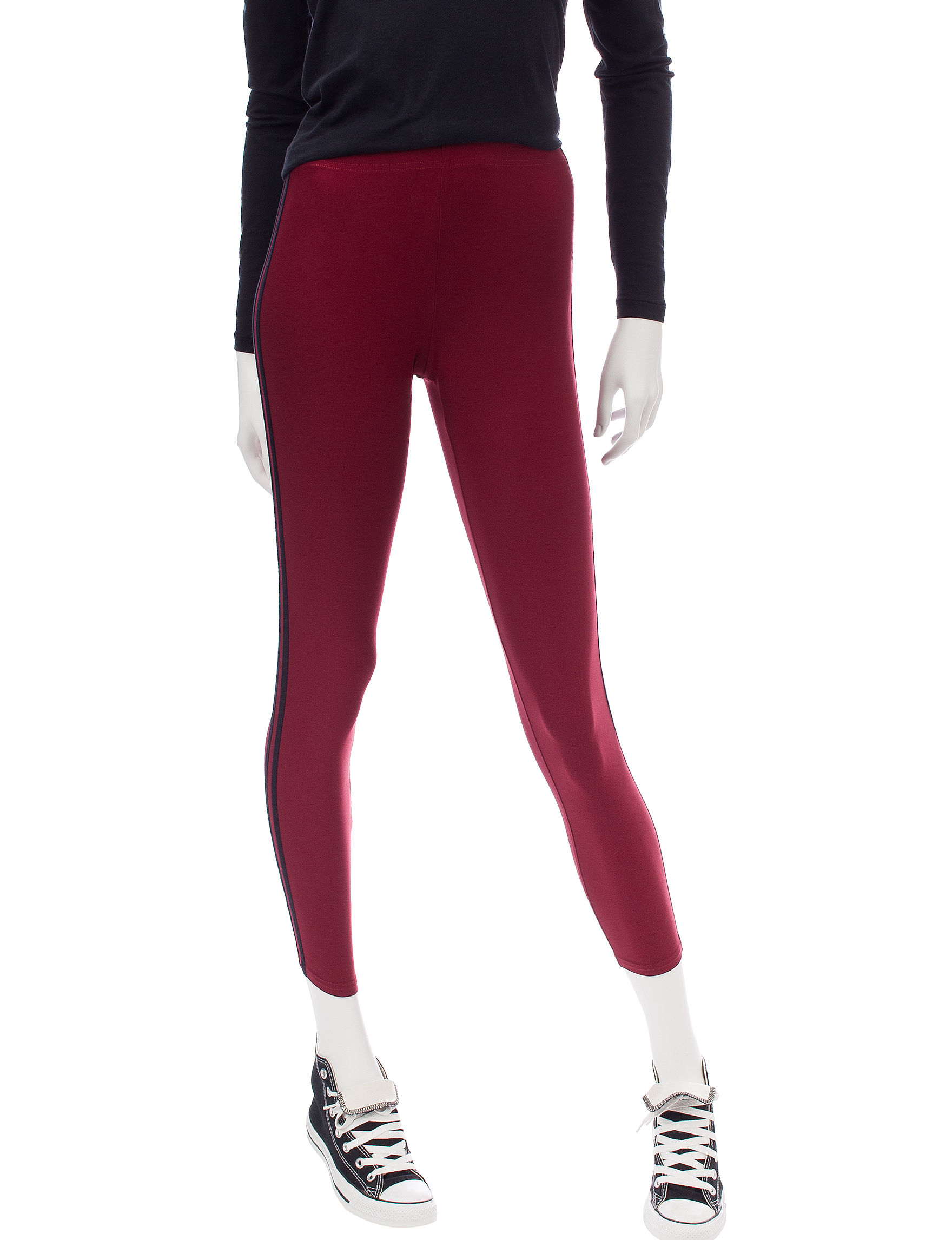 No Comment Red Leggings