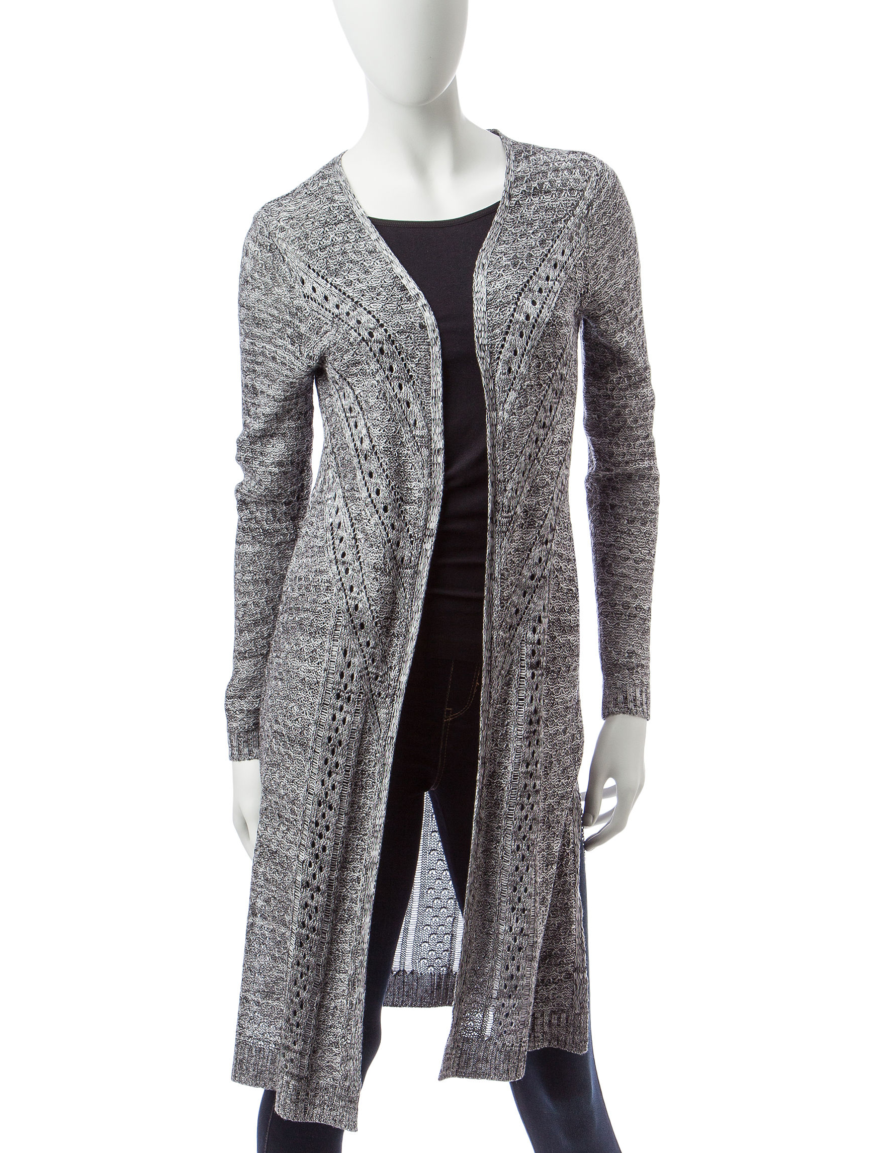 It's Our Time Pointelle Duster Cardigan | Stage Stores