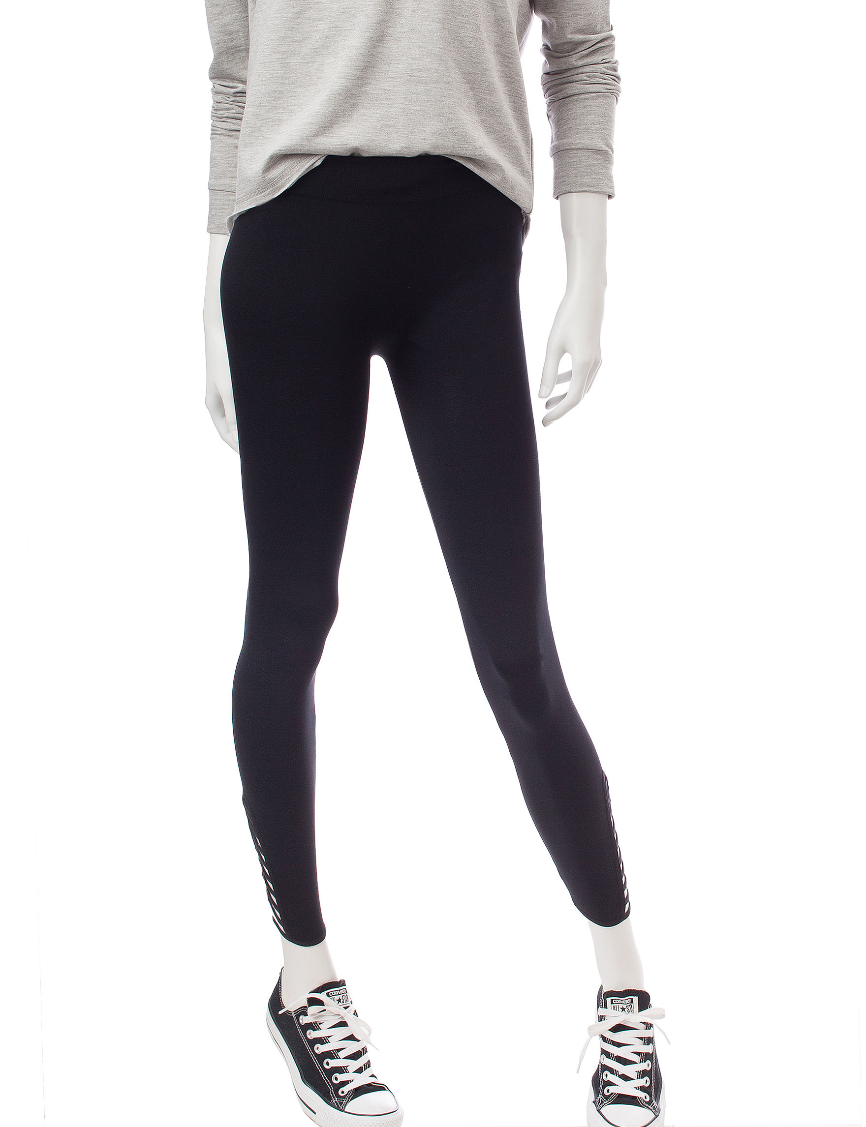 Moral Fiber Black Leggings
