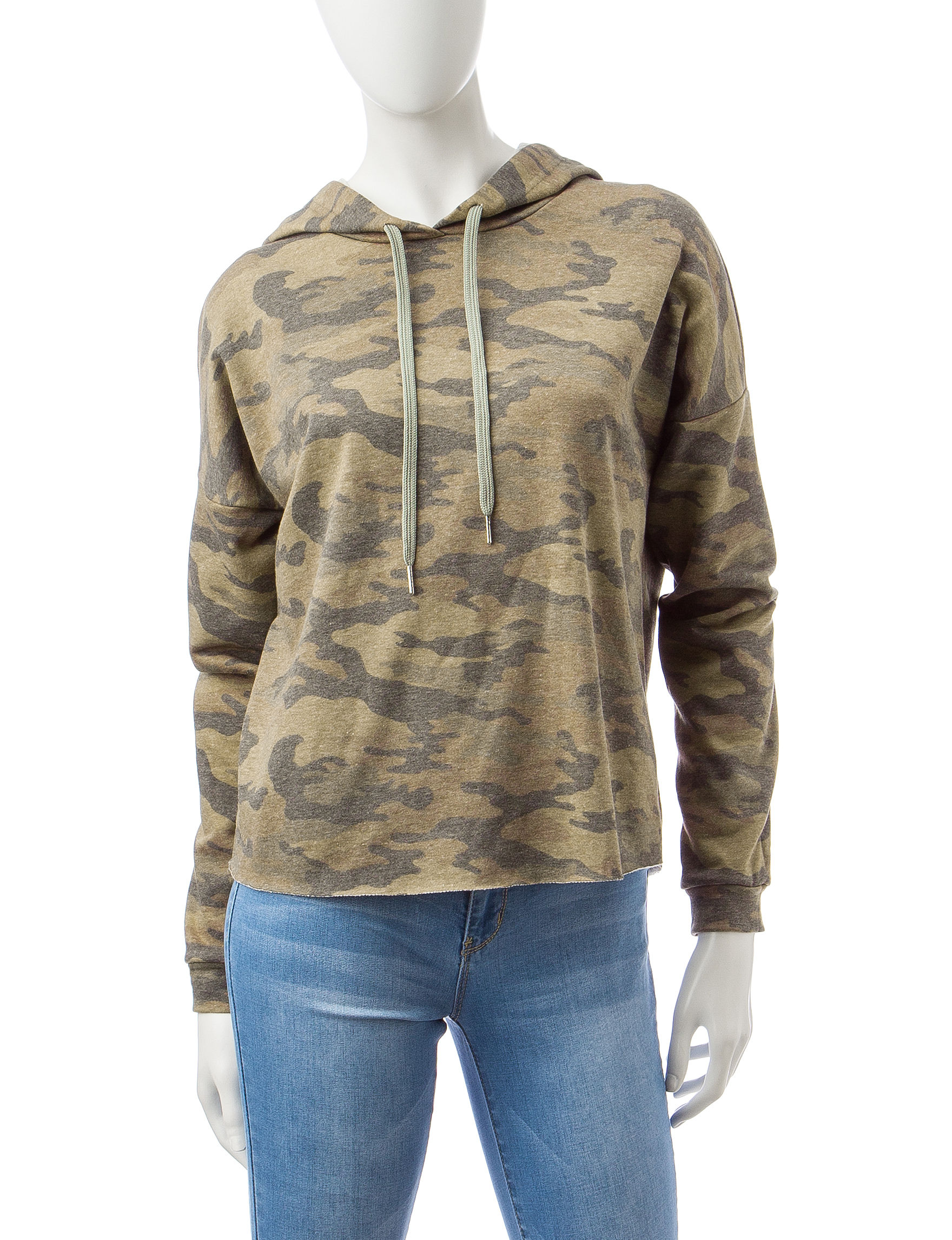 Justify Green Pull-overs