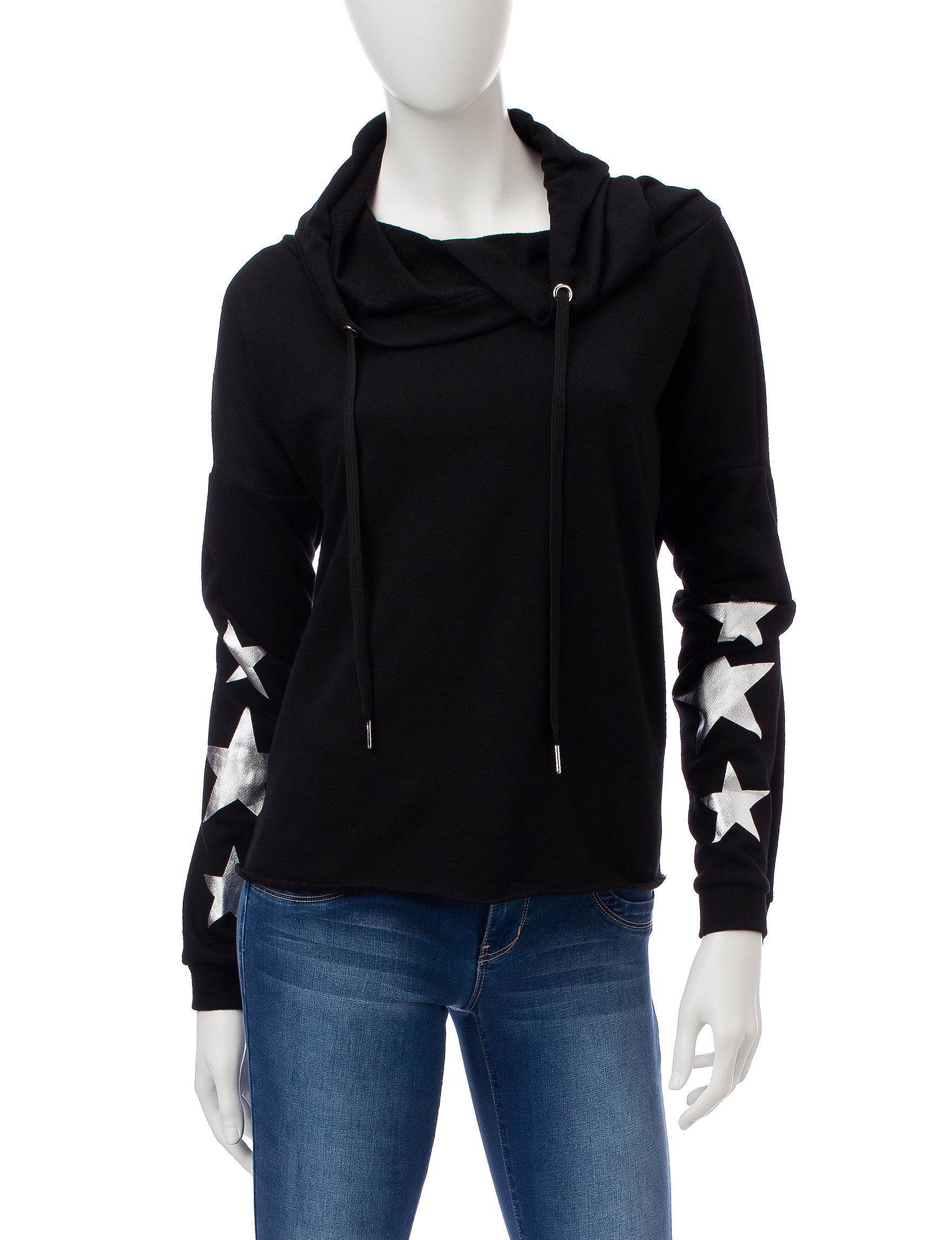 Justify Black Pull-overs