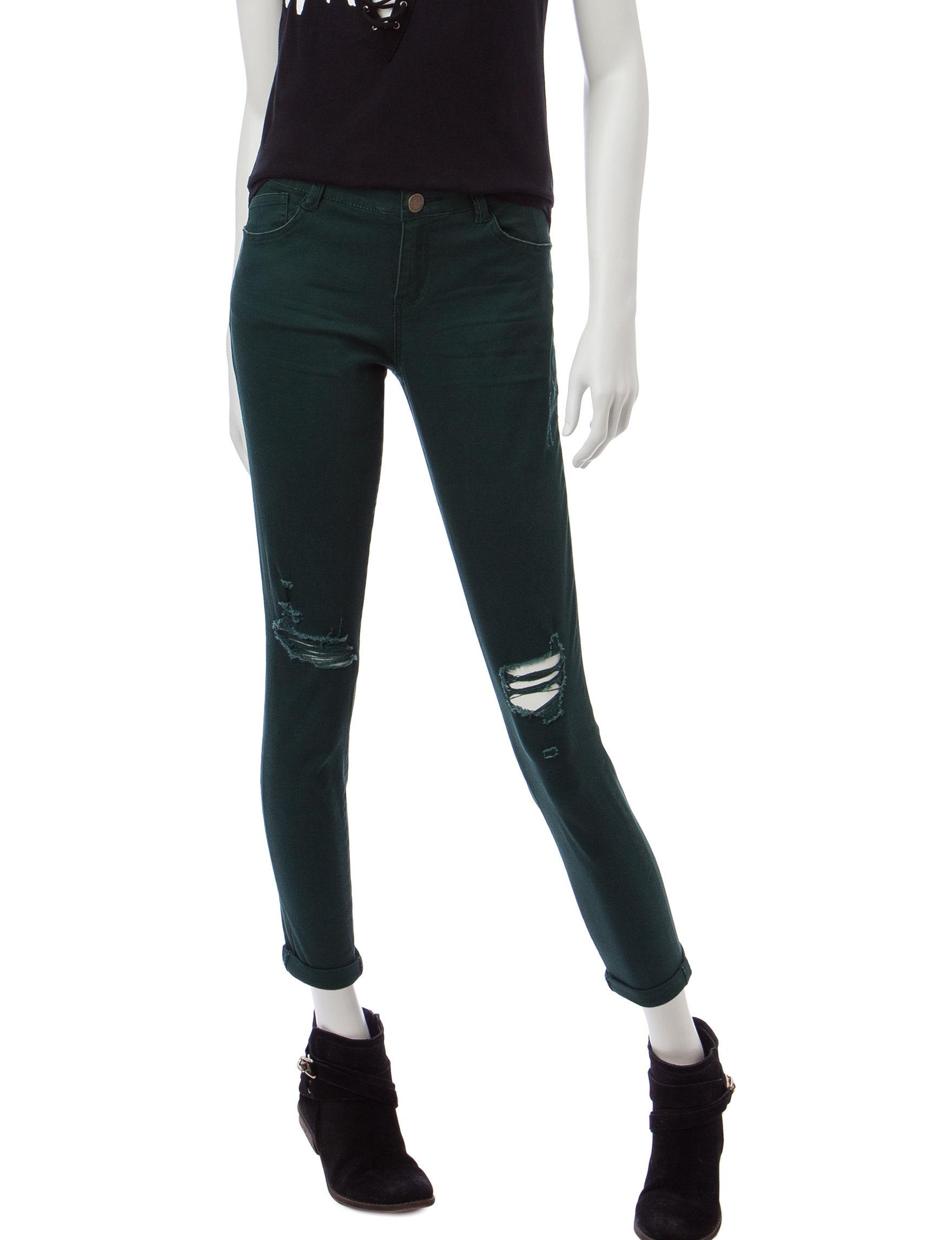 Jolt Green Skinny
