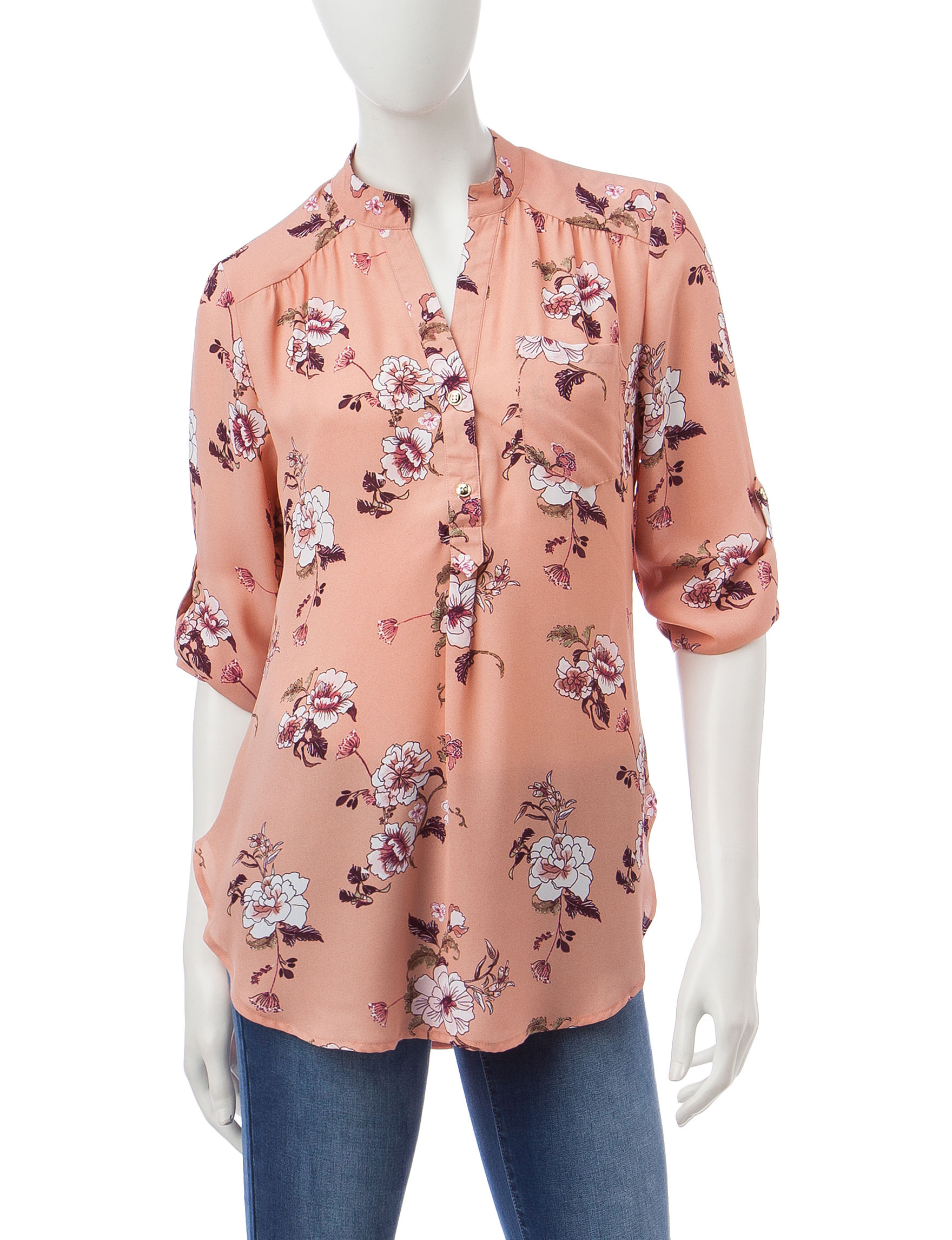 Wishful Park Pink Shirts & Blouses