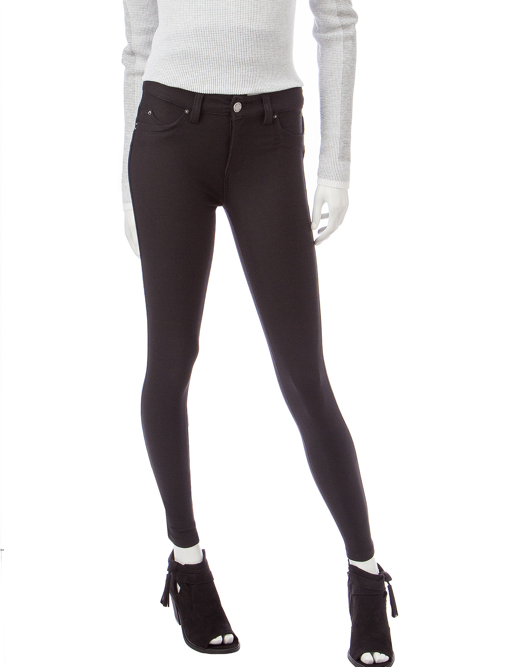 YMI Black Skinny Stretch