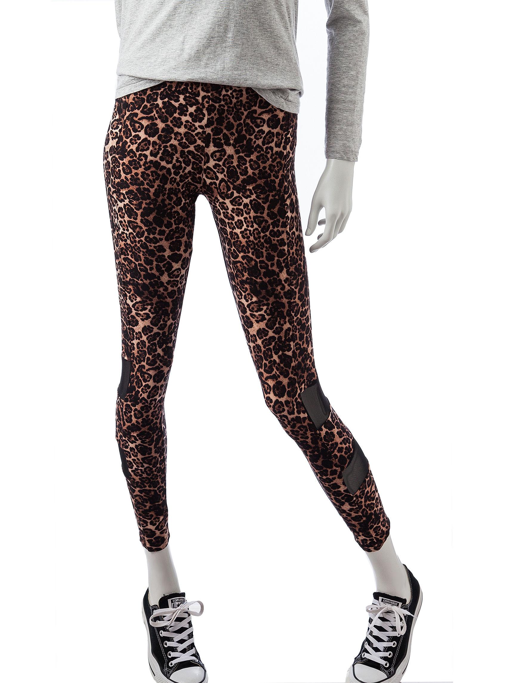 No Comment Leopard Leggings