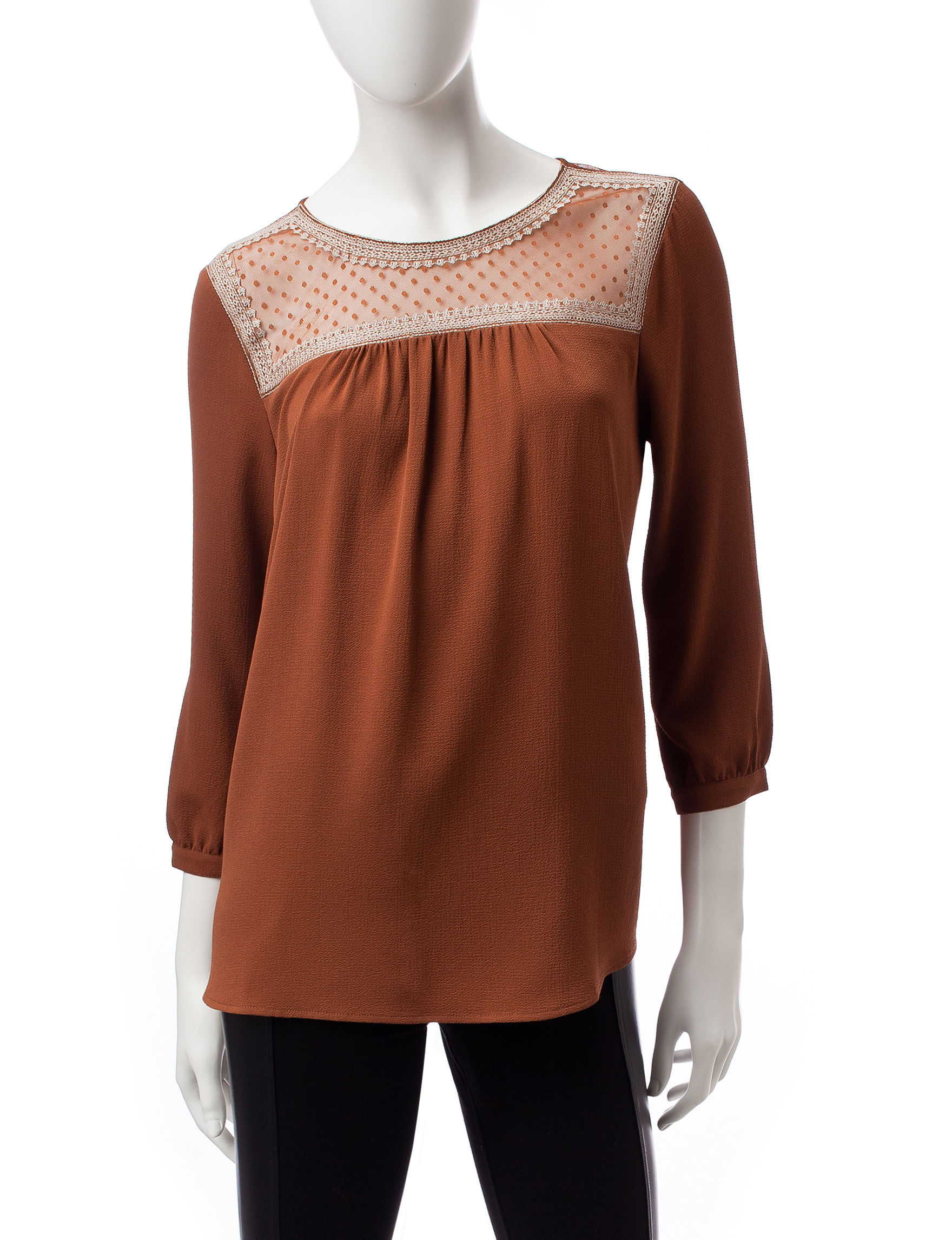 Signature Studio Rust / Copper Shirts & Blouses