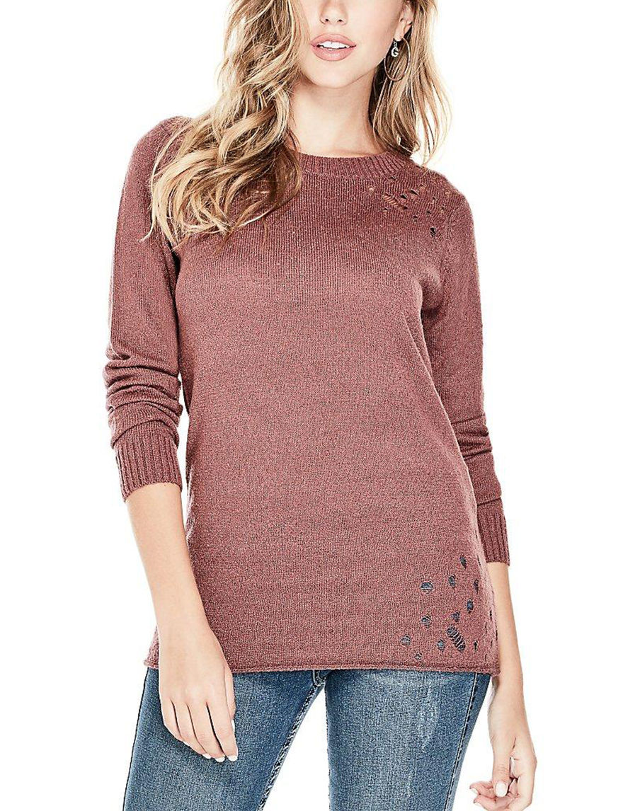 G by Guess Red Pull-overs