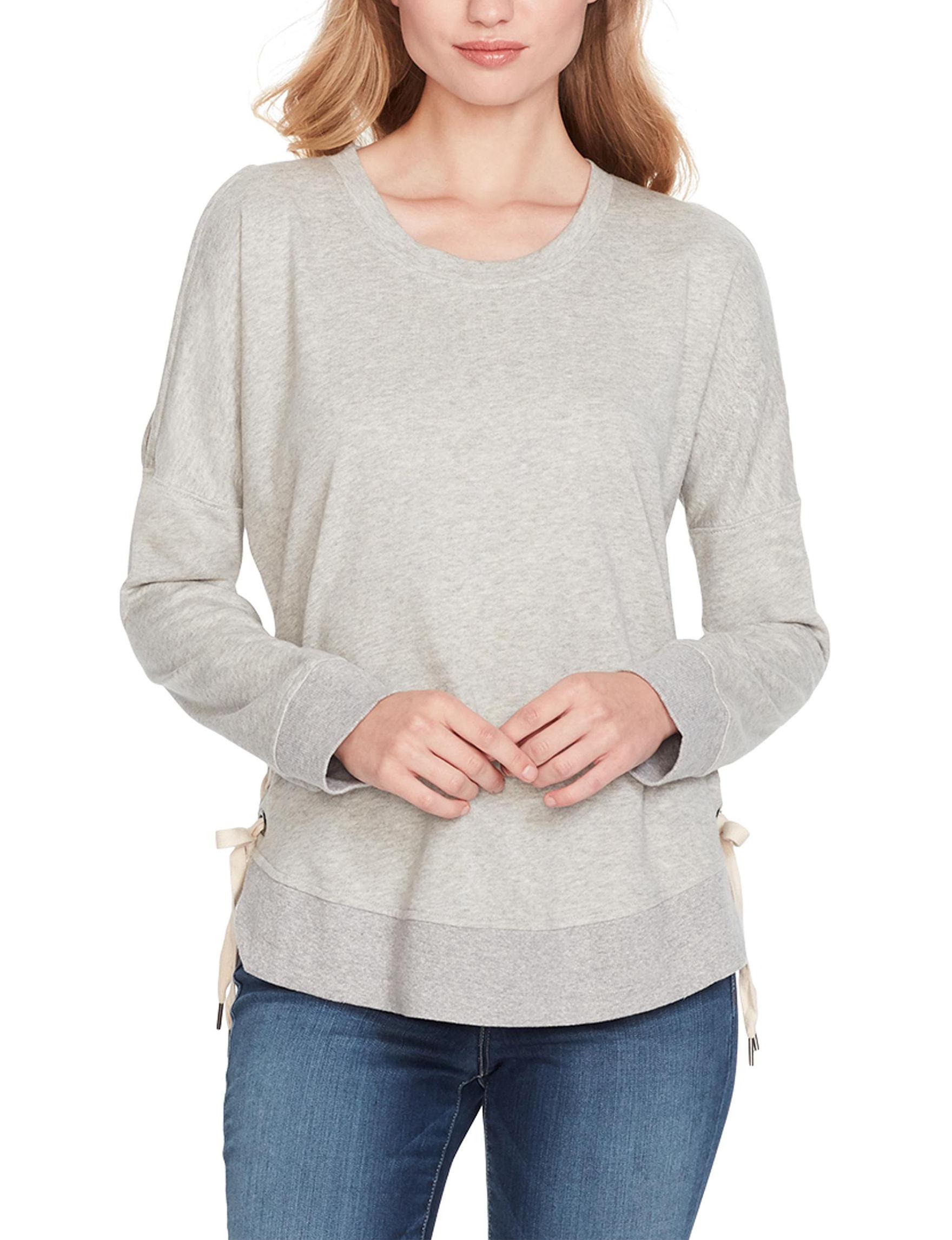 Jessica Simpson Light Grey Shirts & Blouses