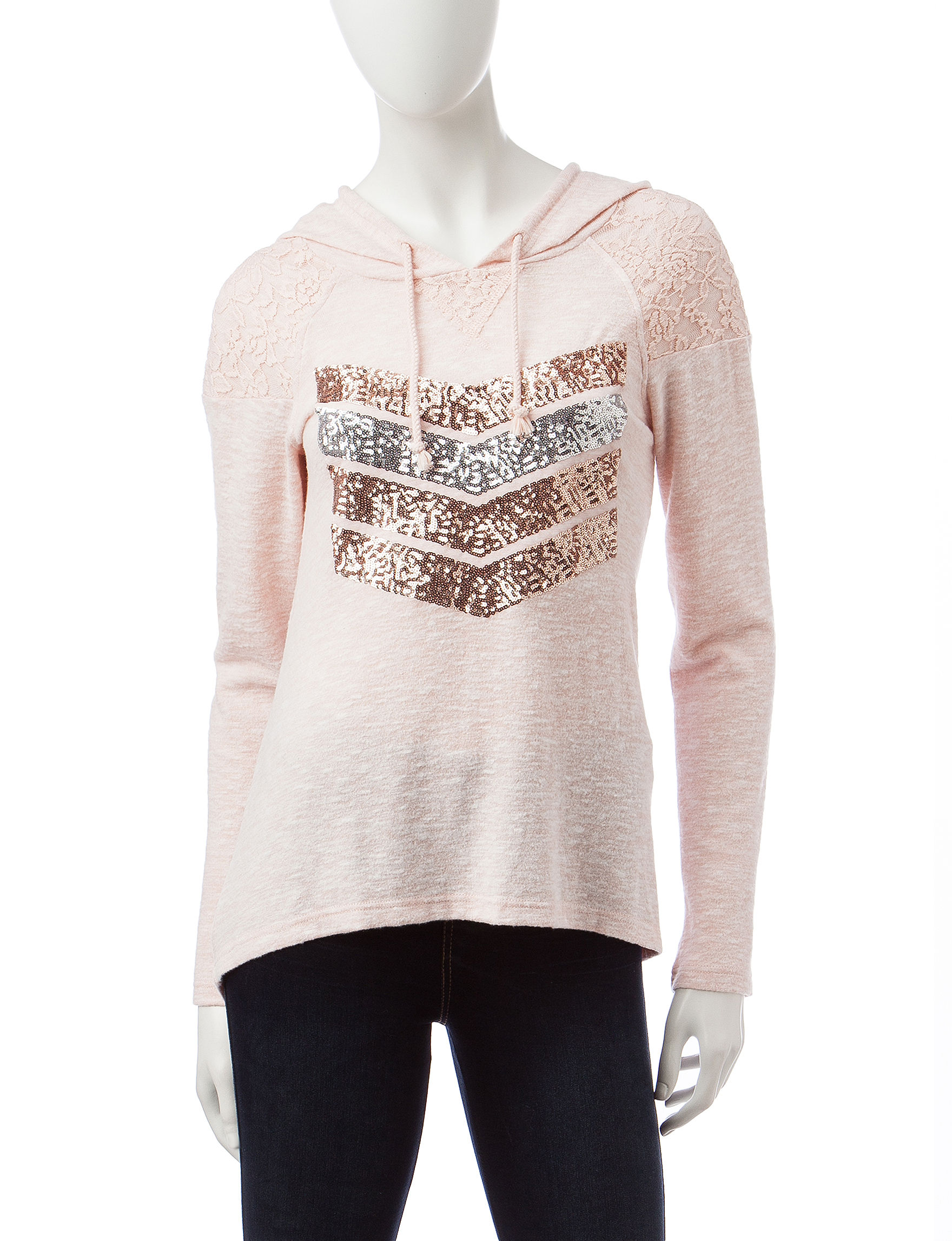 Miss Chevious Blush Pull-overs