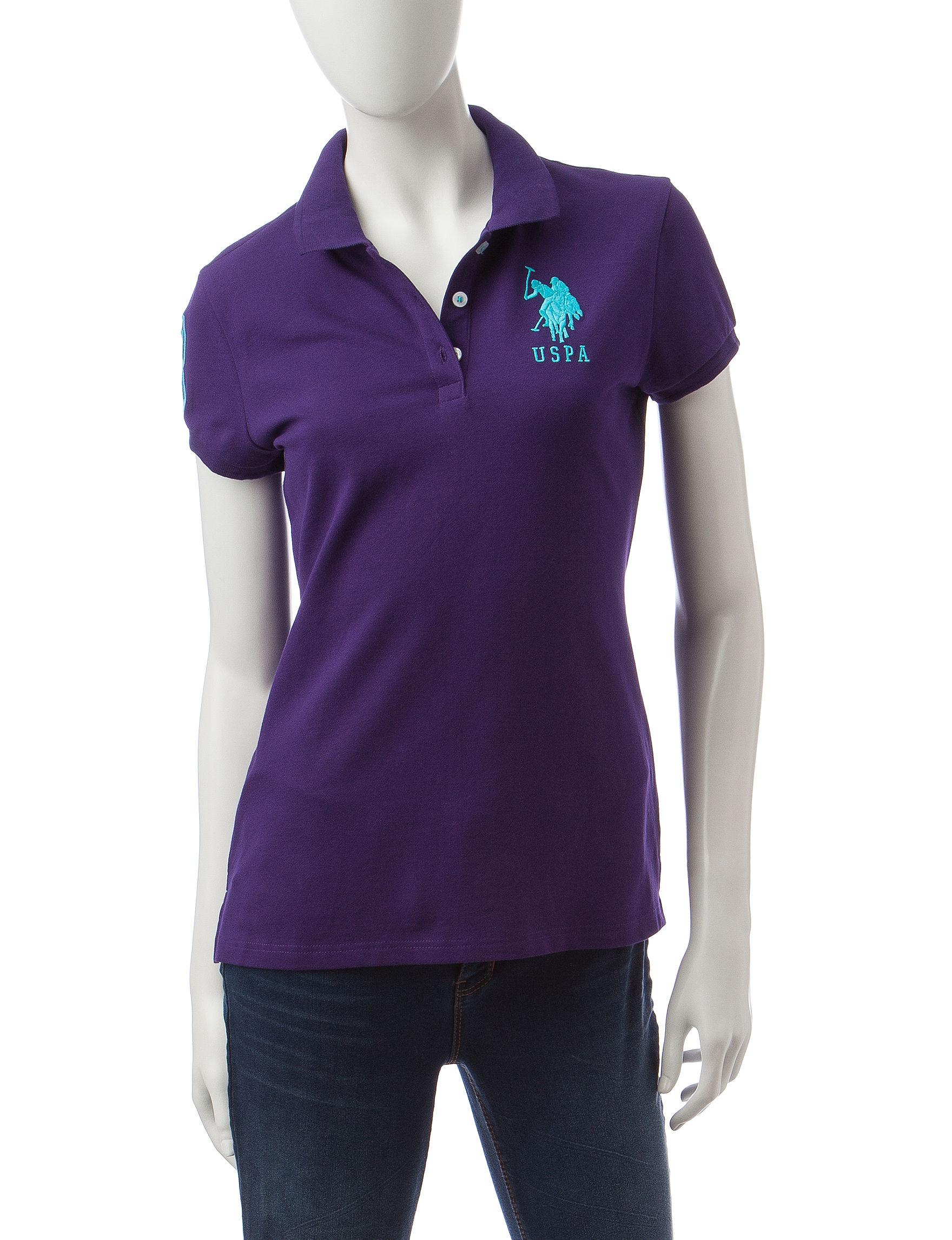 U.S. Polo Assn. Purple Polos