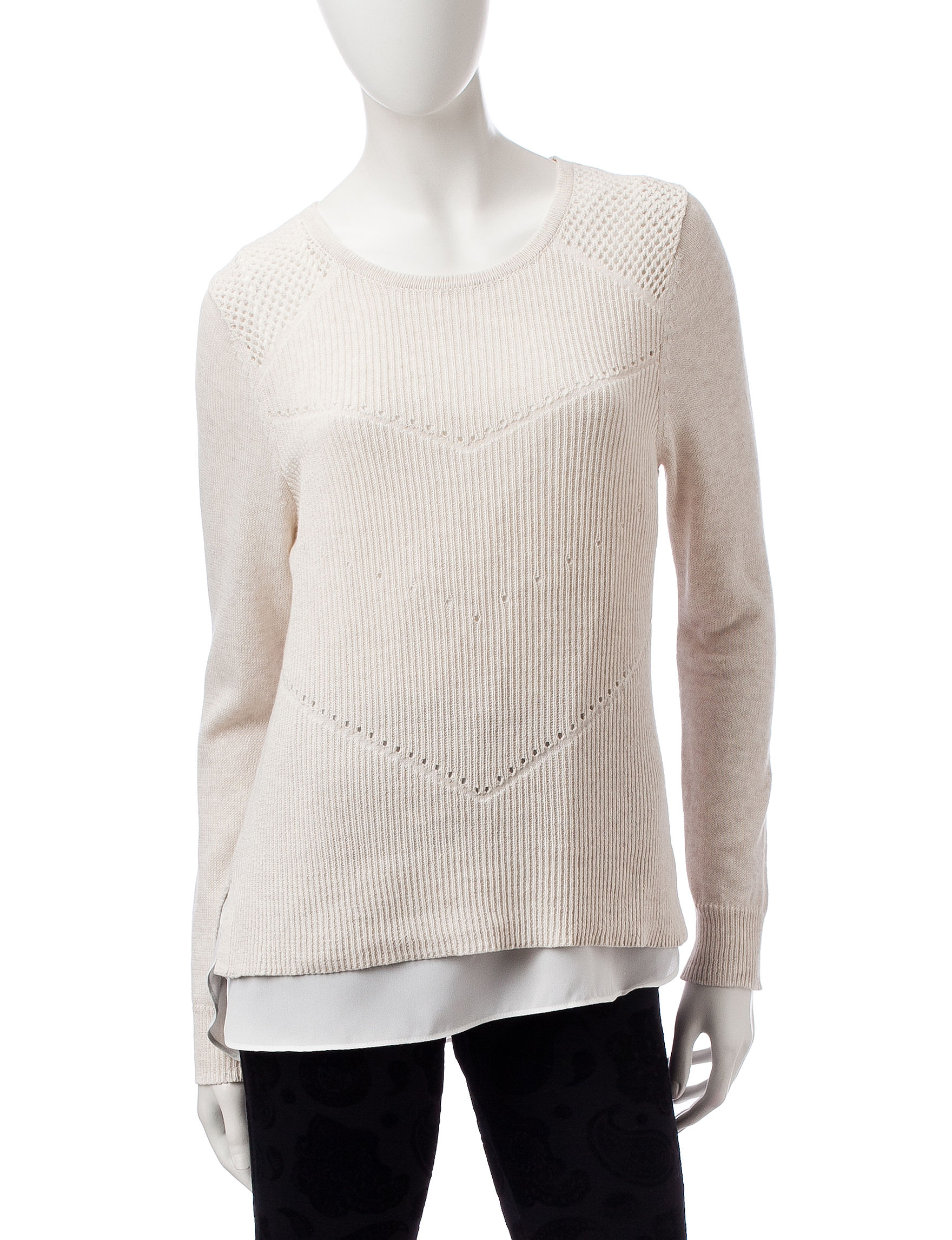 A. Byer White Pull-overs