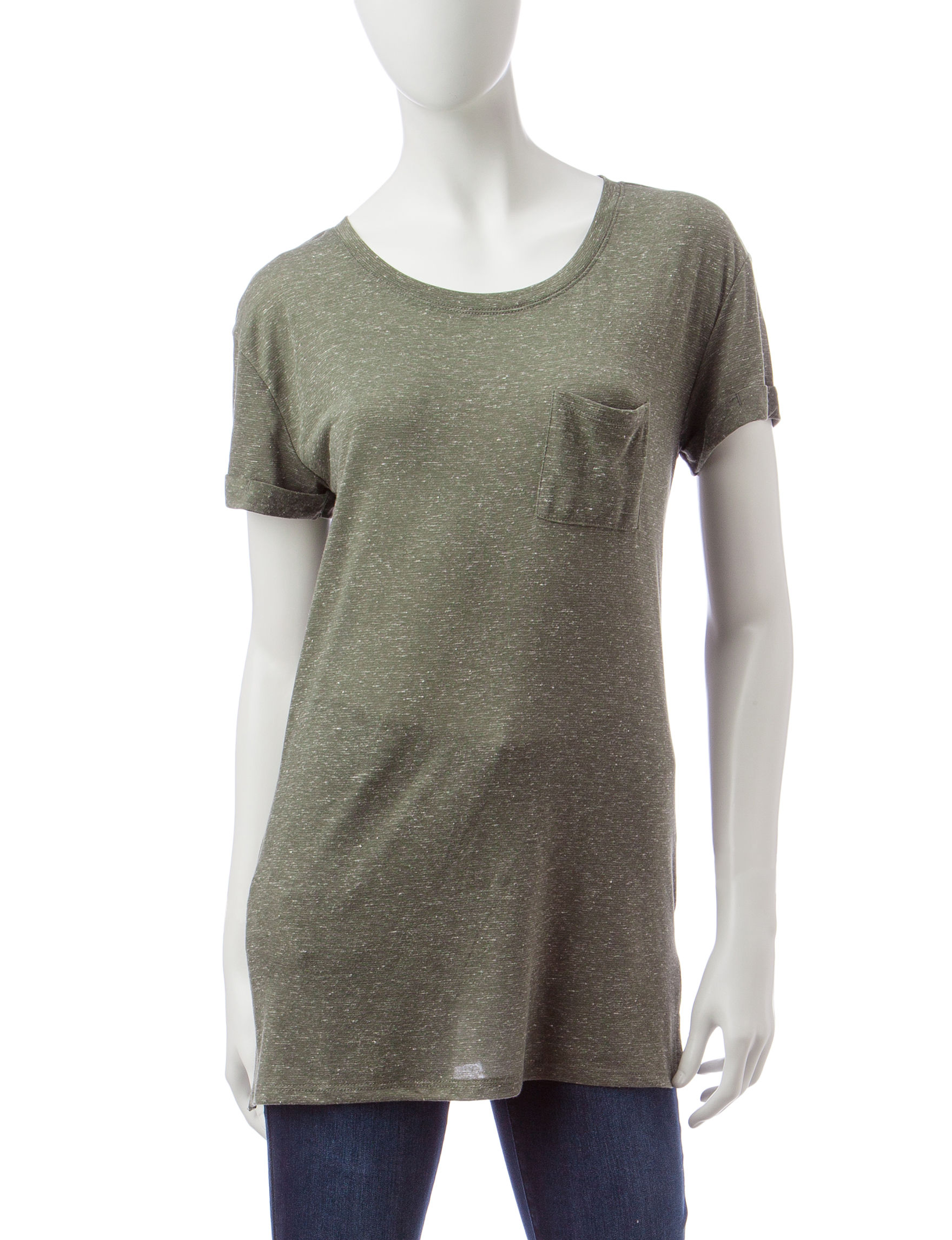 Wishful Park Olive Tees & Tanks
