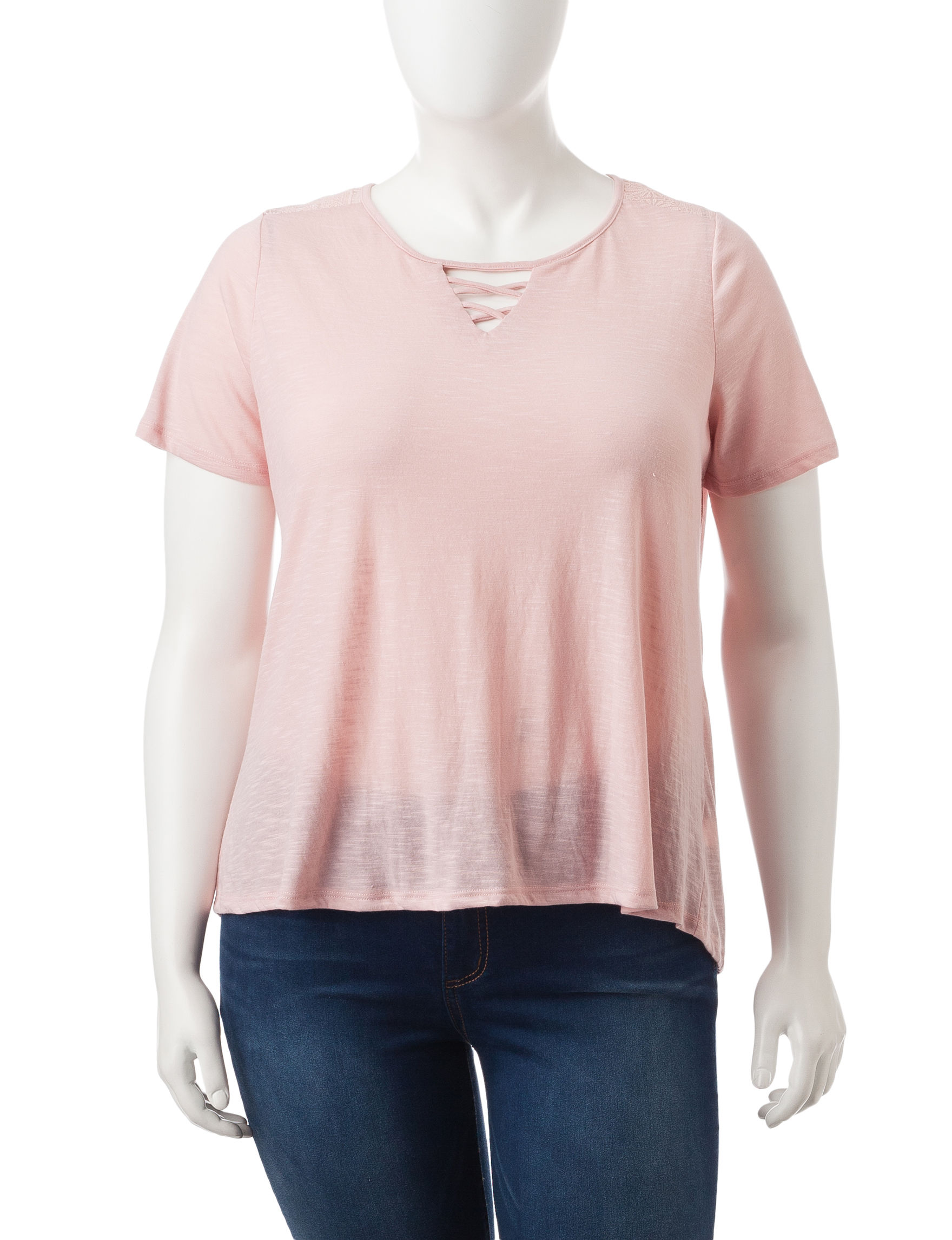 Self Esteem Blush Shirts & Blouses