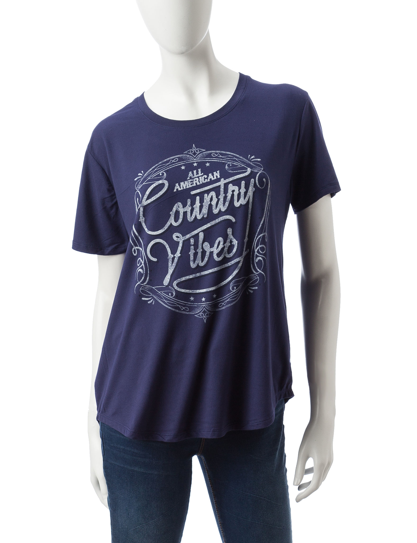 Cold Crush Navy Tees & Tanks