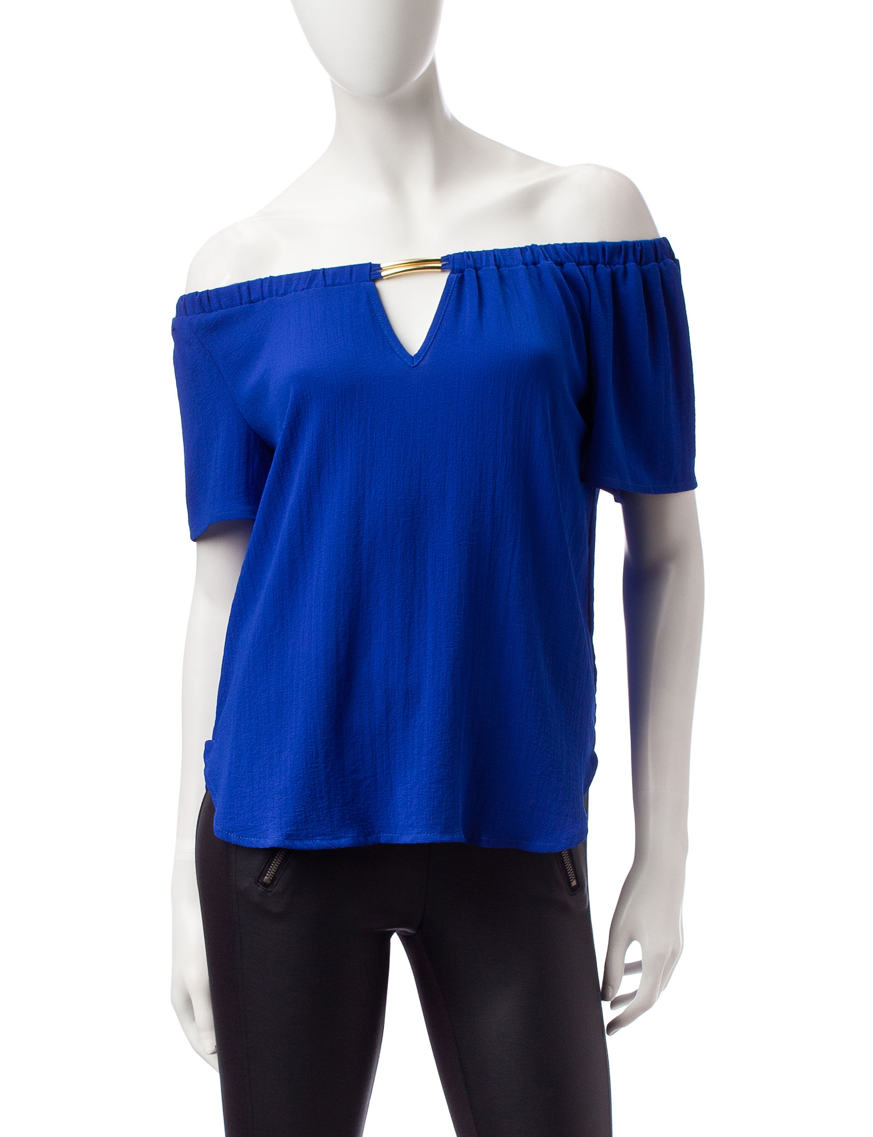 Wishful Park Royal Blue Shirts & Blouses
