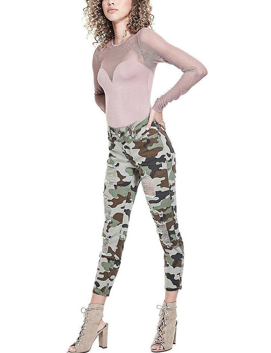 G by Guess Camo Skinny