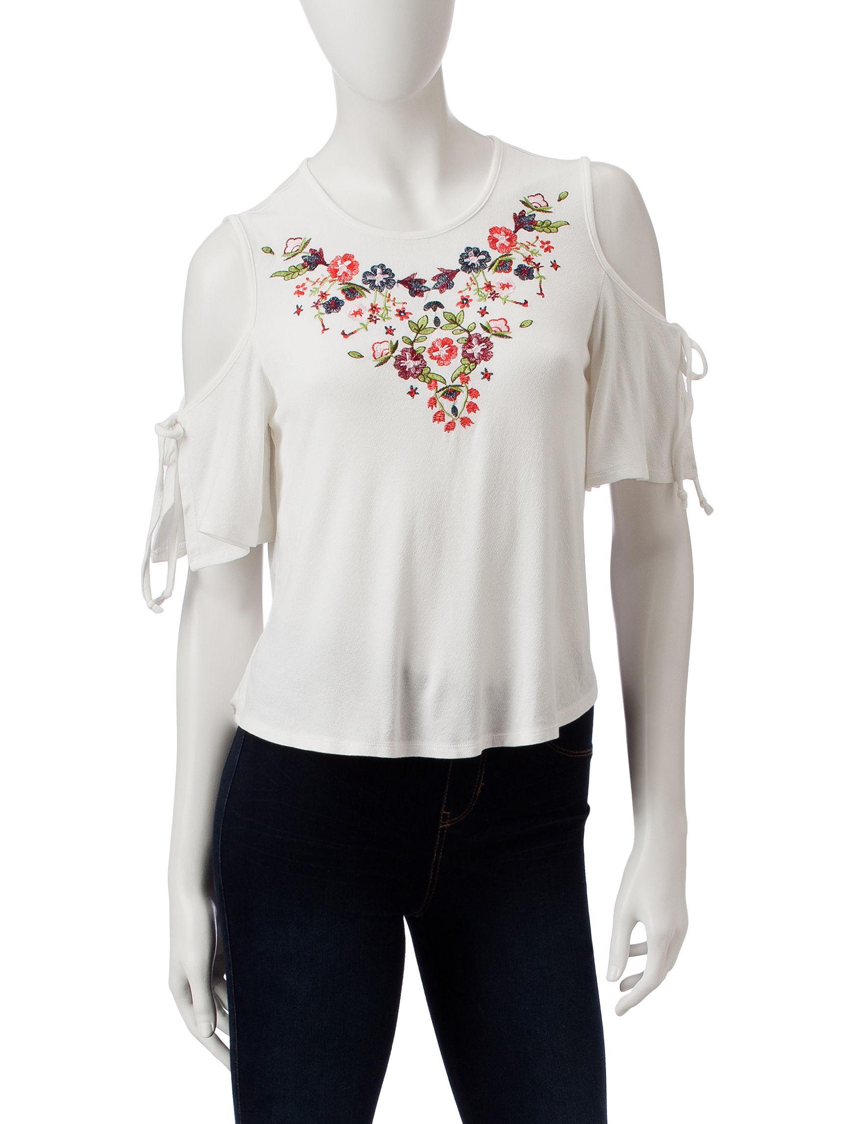 Wishful Park Ivory Shirts & Blouses