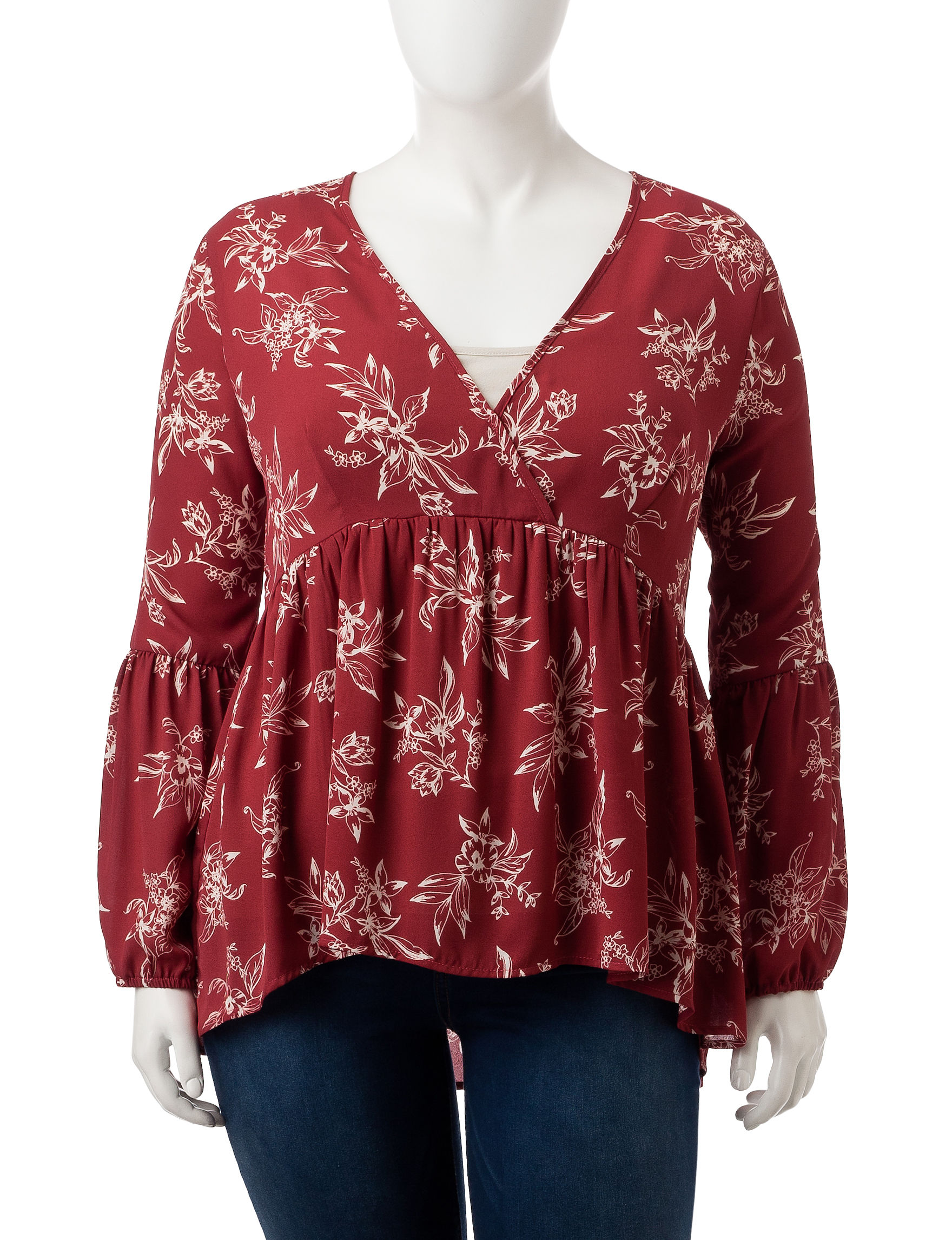 Liberty Love Chili Shirts & Blouses