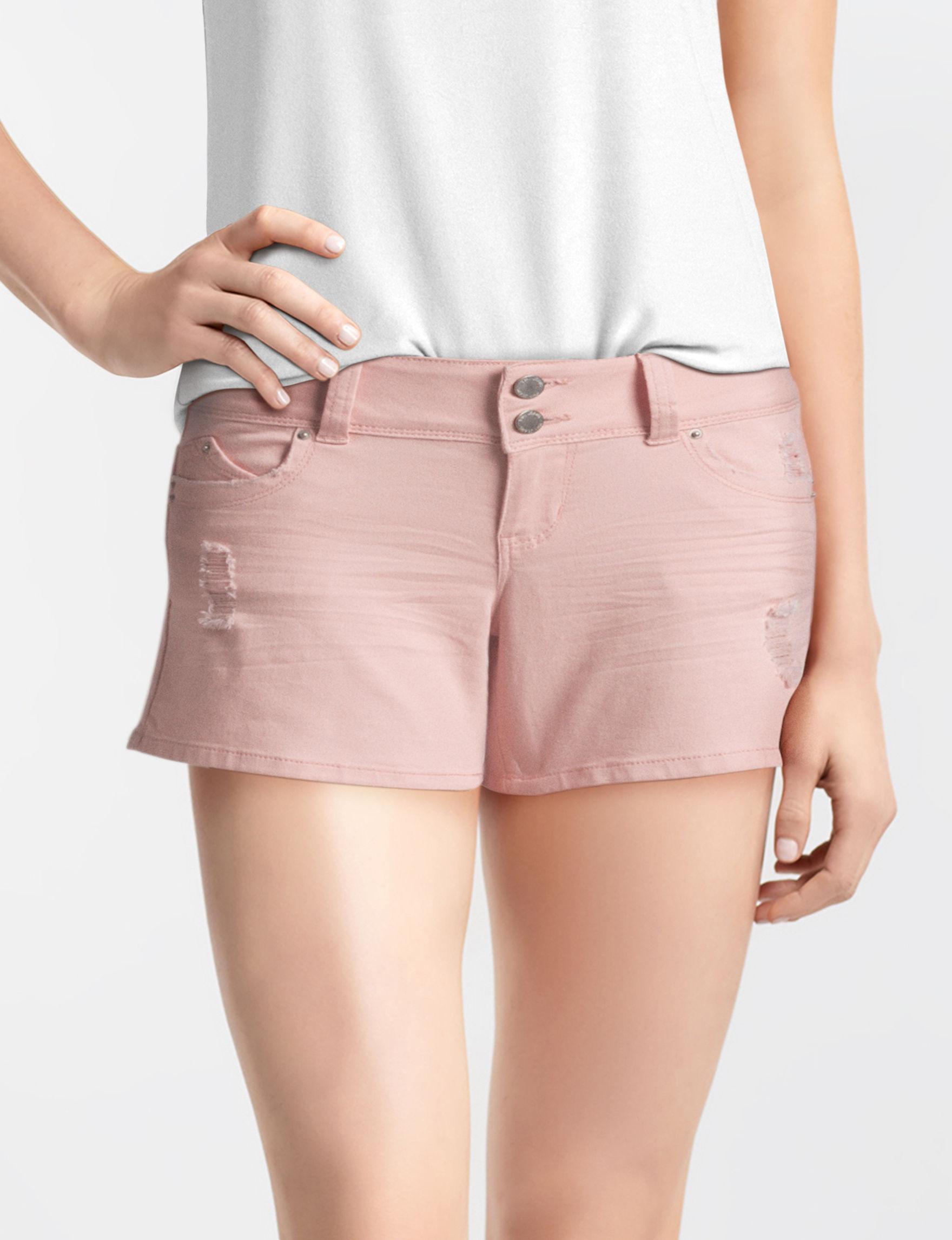 YMI Pink Denim Shorts