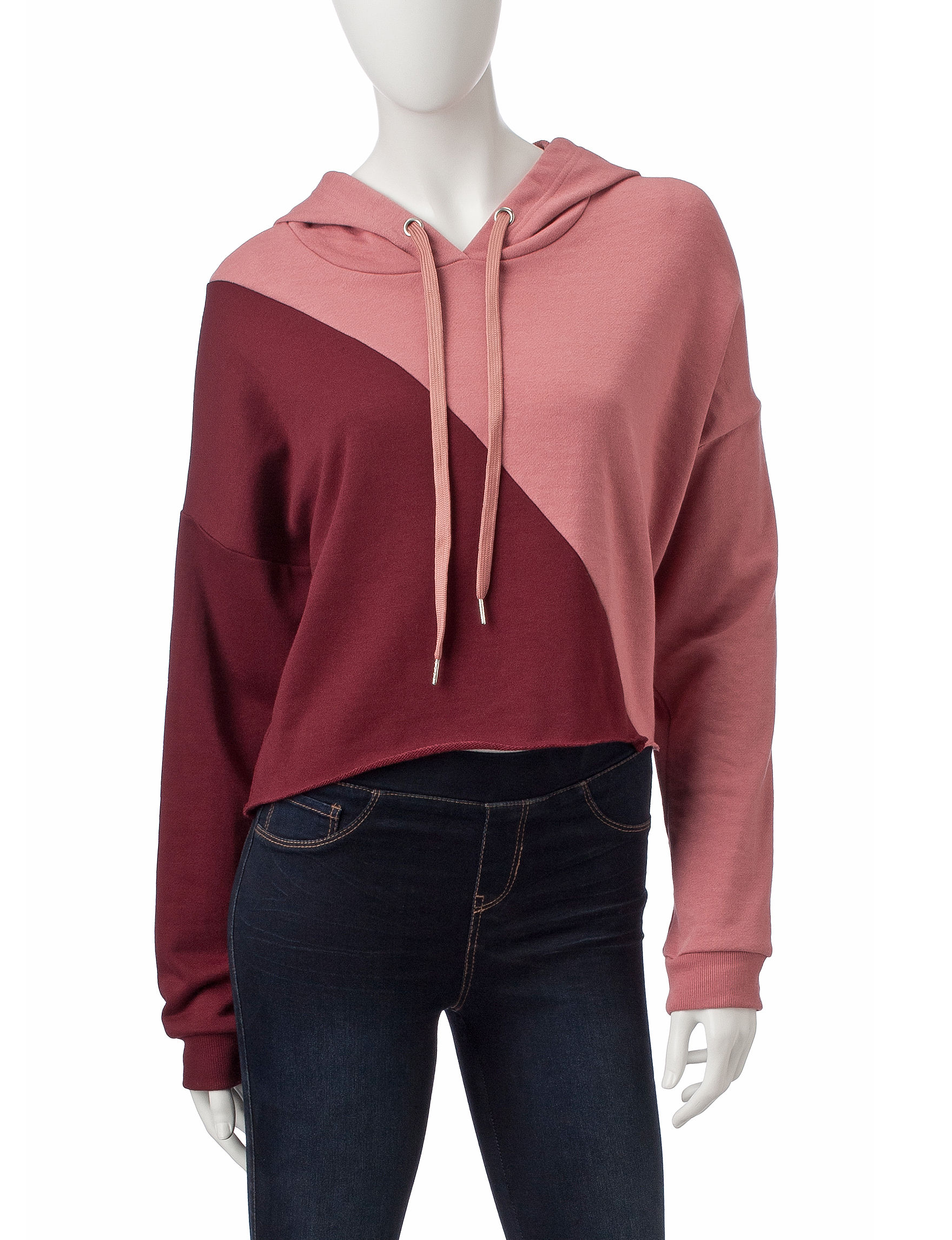Justify Pink / Burgundy Pull-overs