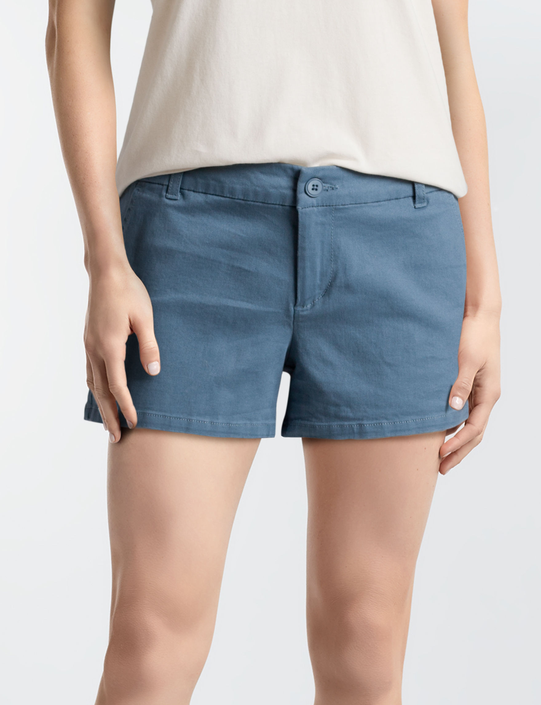 Wishful Park Slate Classic Tailored Shorts