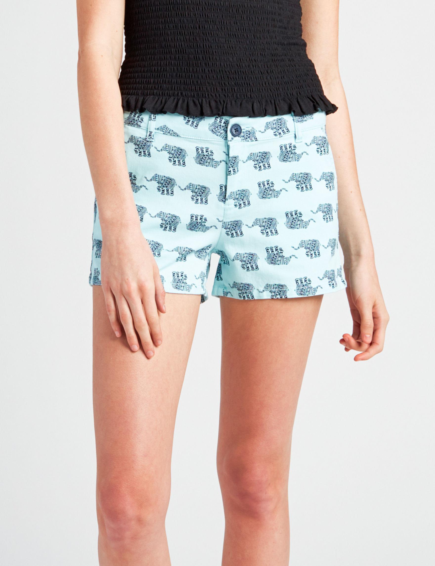 BeBop Blue Tailored Shorts