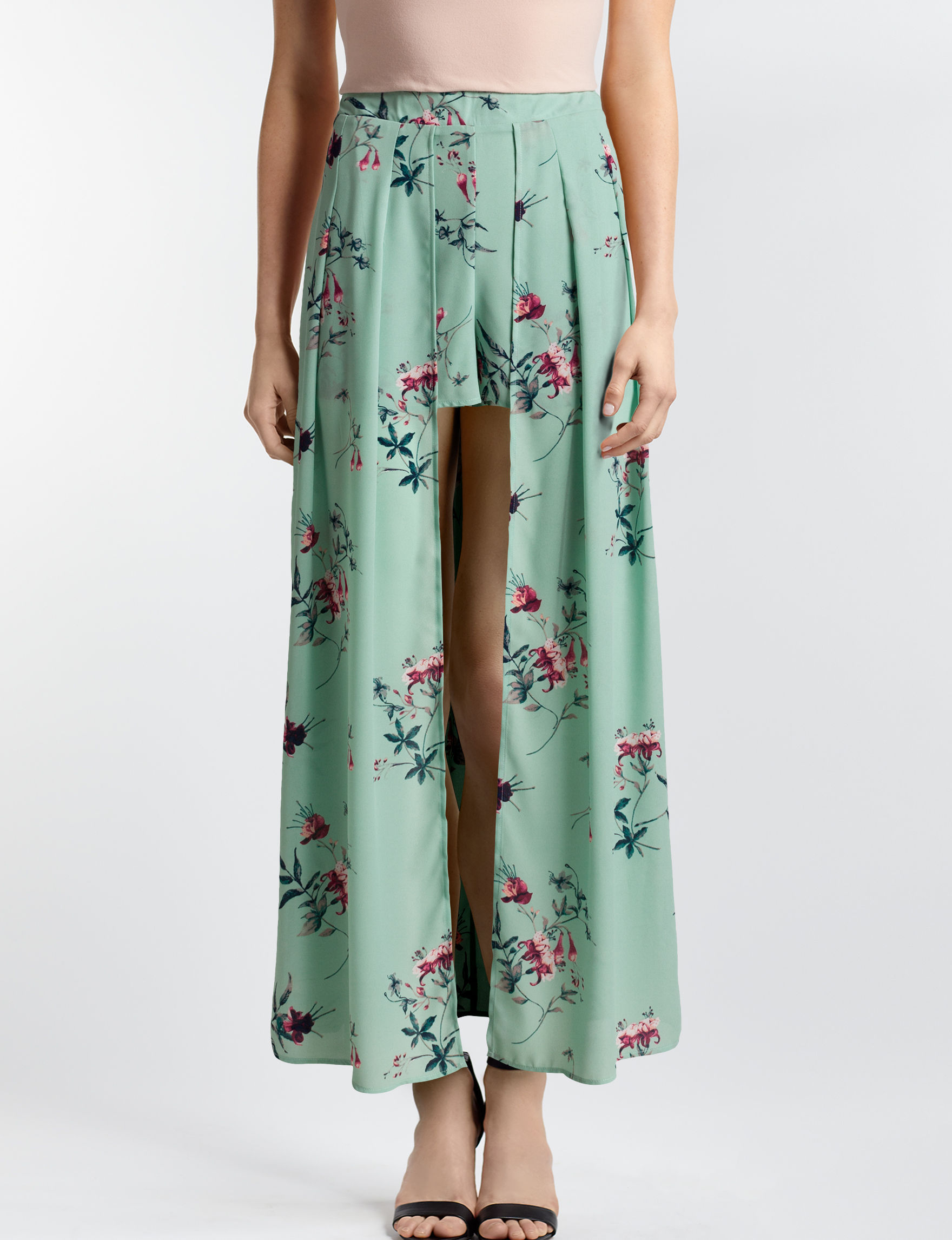 Justify Mint Floral