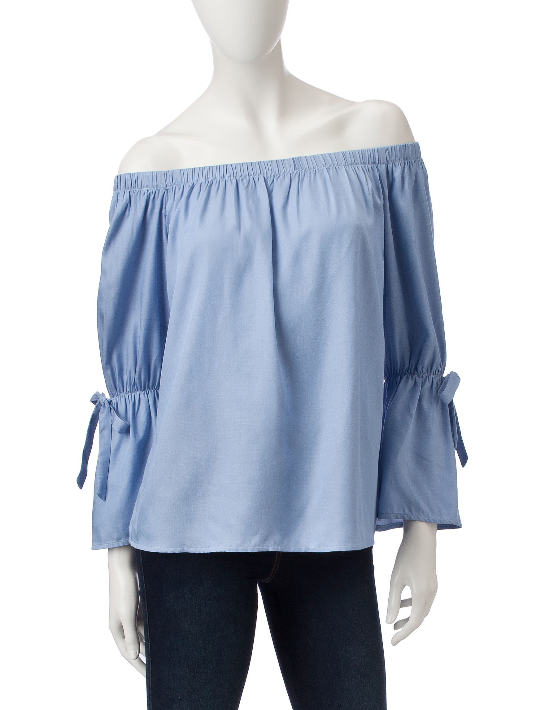 Signature Studio Chambray Shirts & Blouses