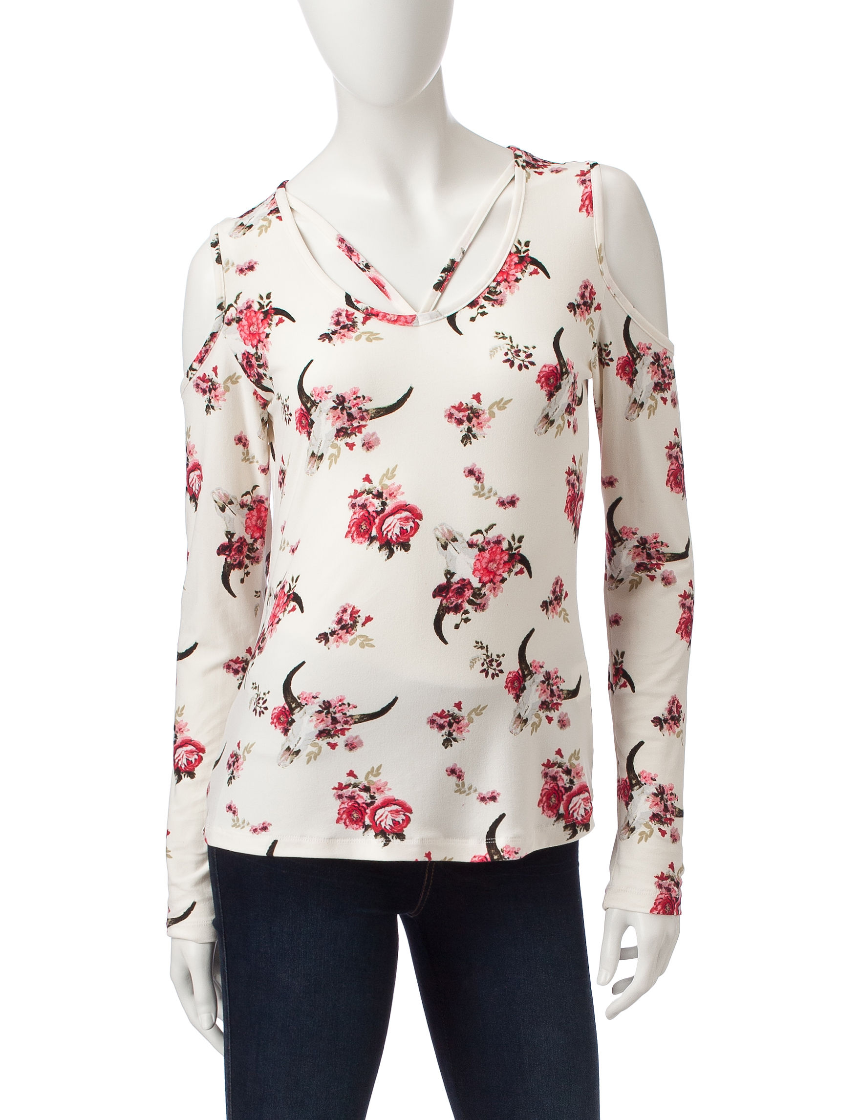 Wishful Park Ivory Shirts & Blouses