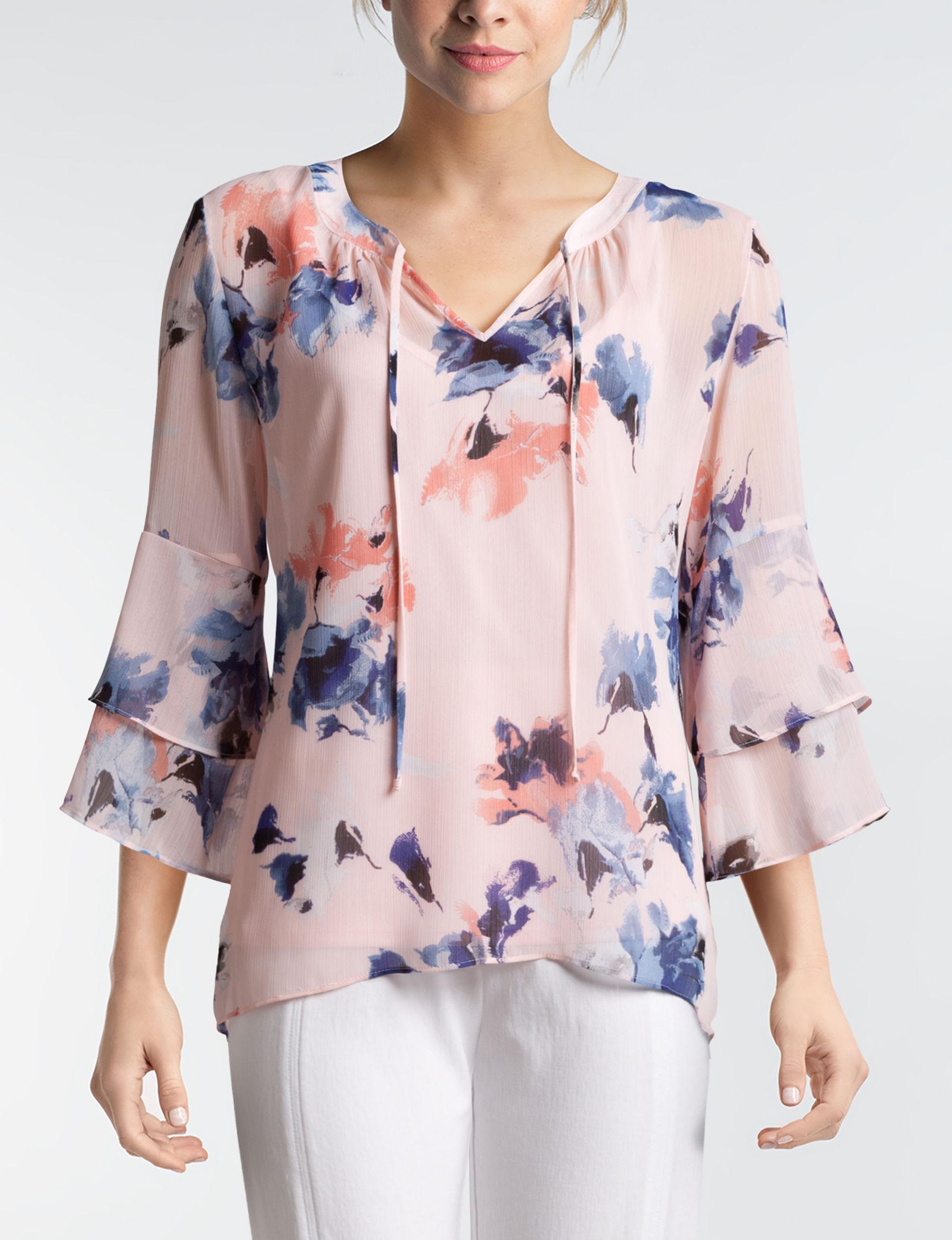 A. Byer Pink Floral
