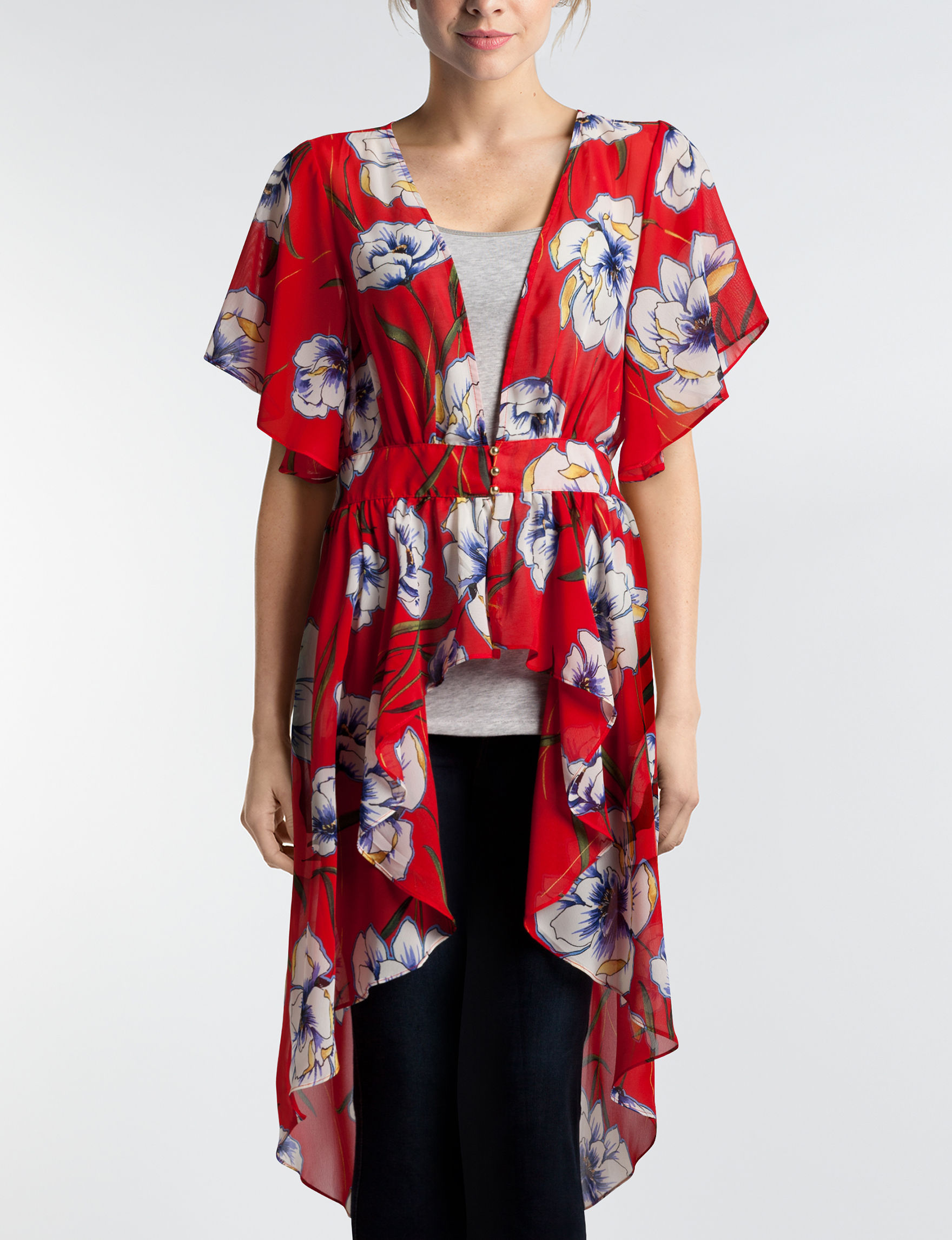 Liberty Love Red Floral