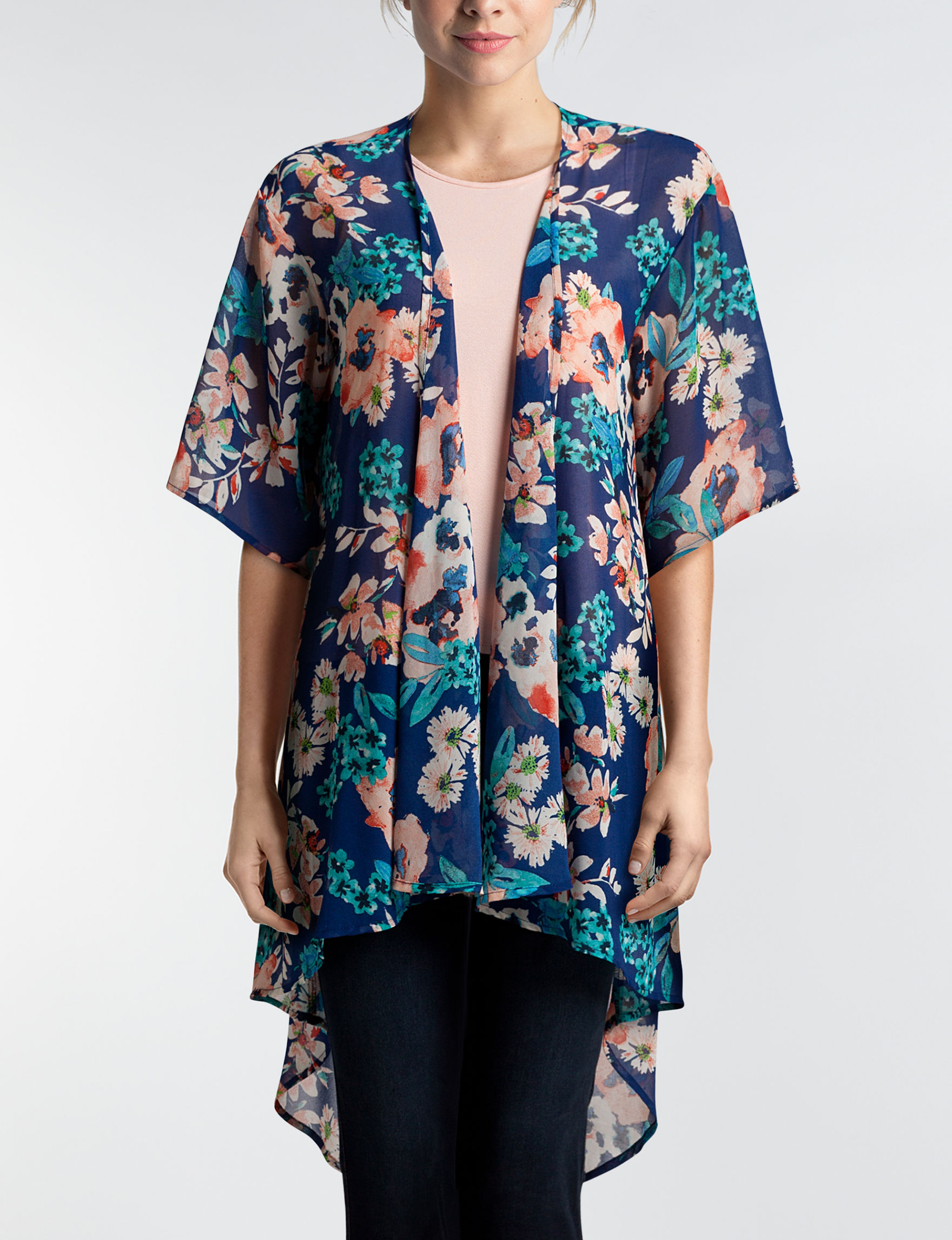 Liberty Love Navy Floral