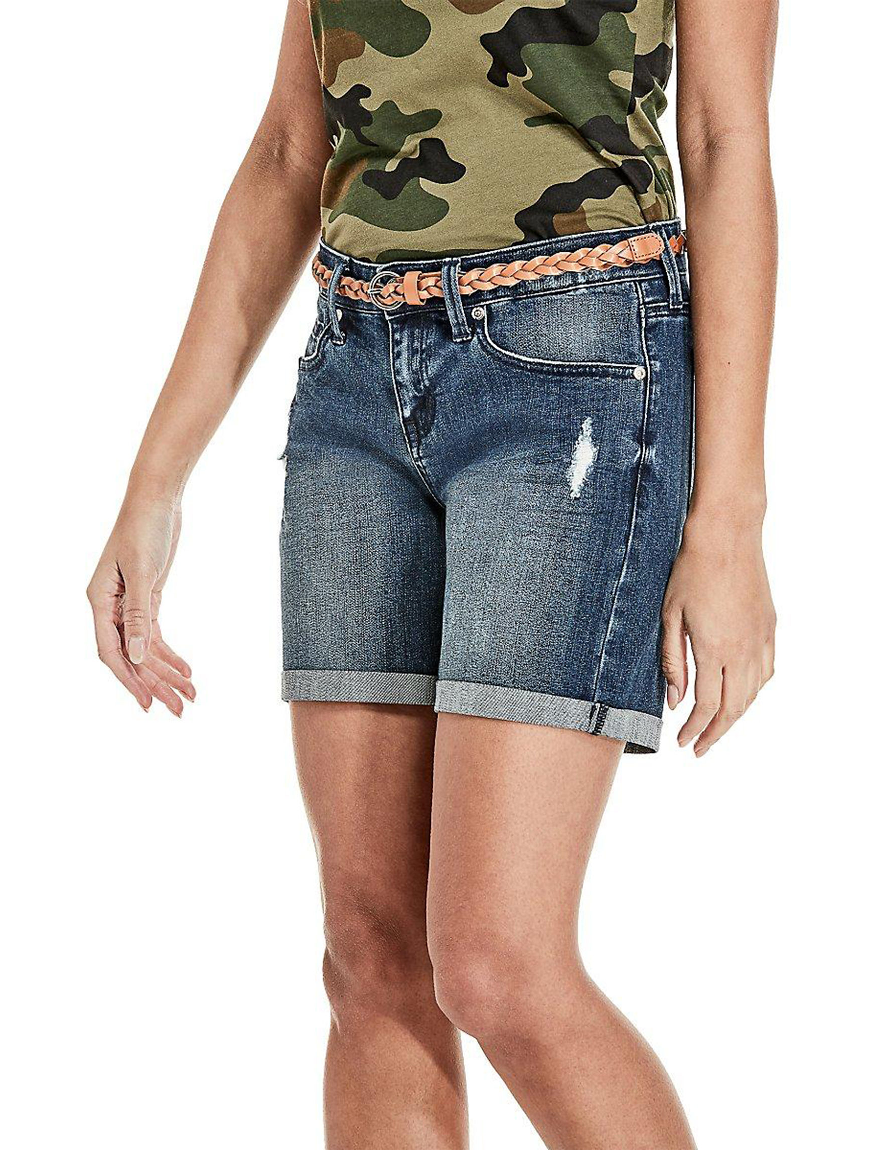 G by Guess Dark Wash Denim Shorts