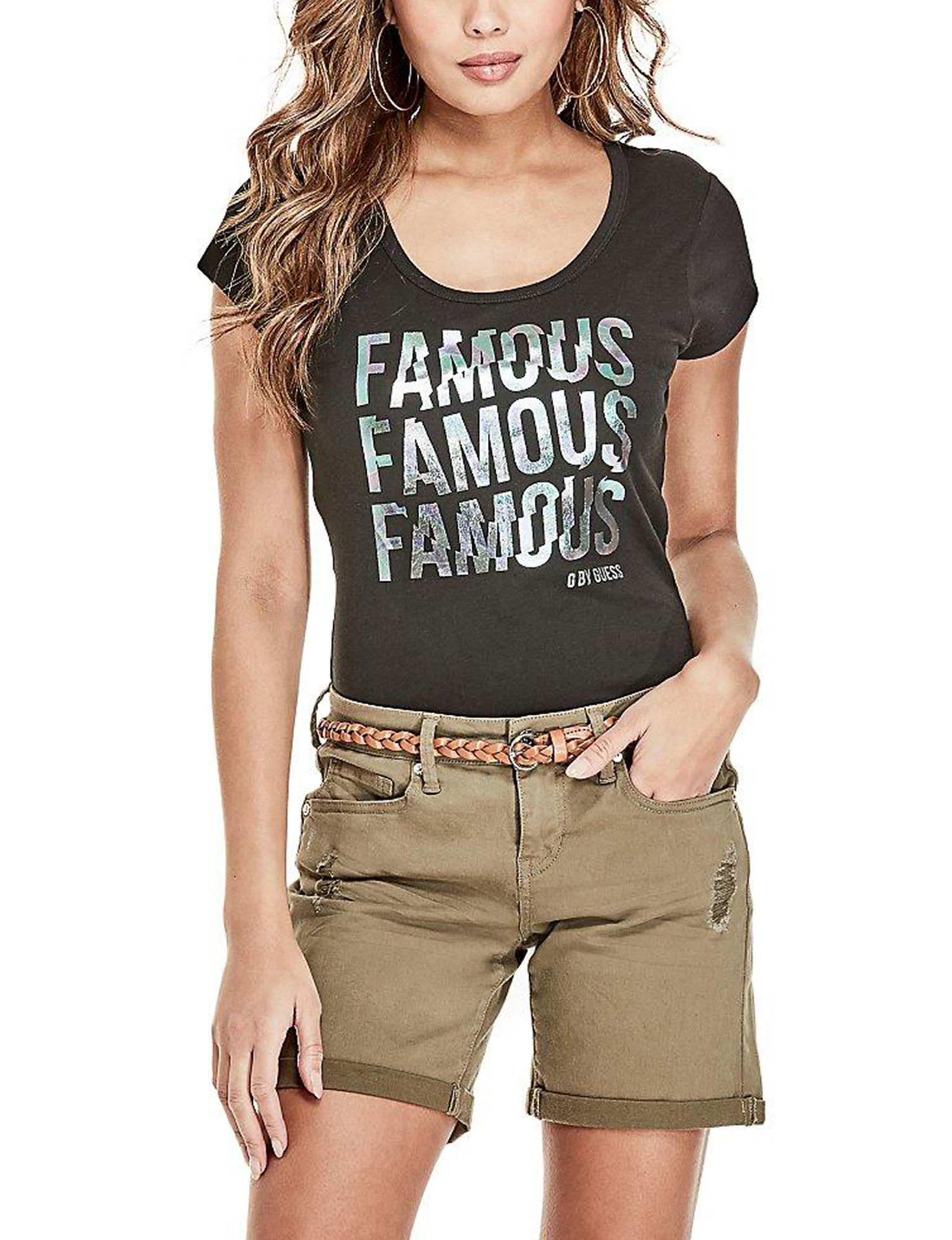 G by Guess Jet Black Shirts & Blouses