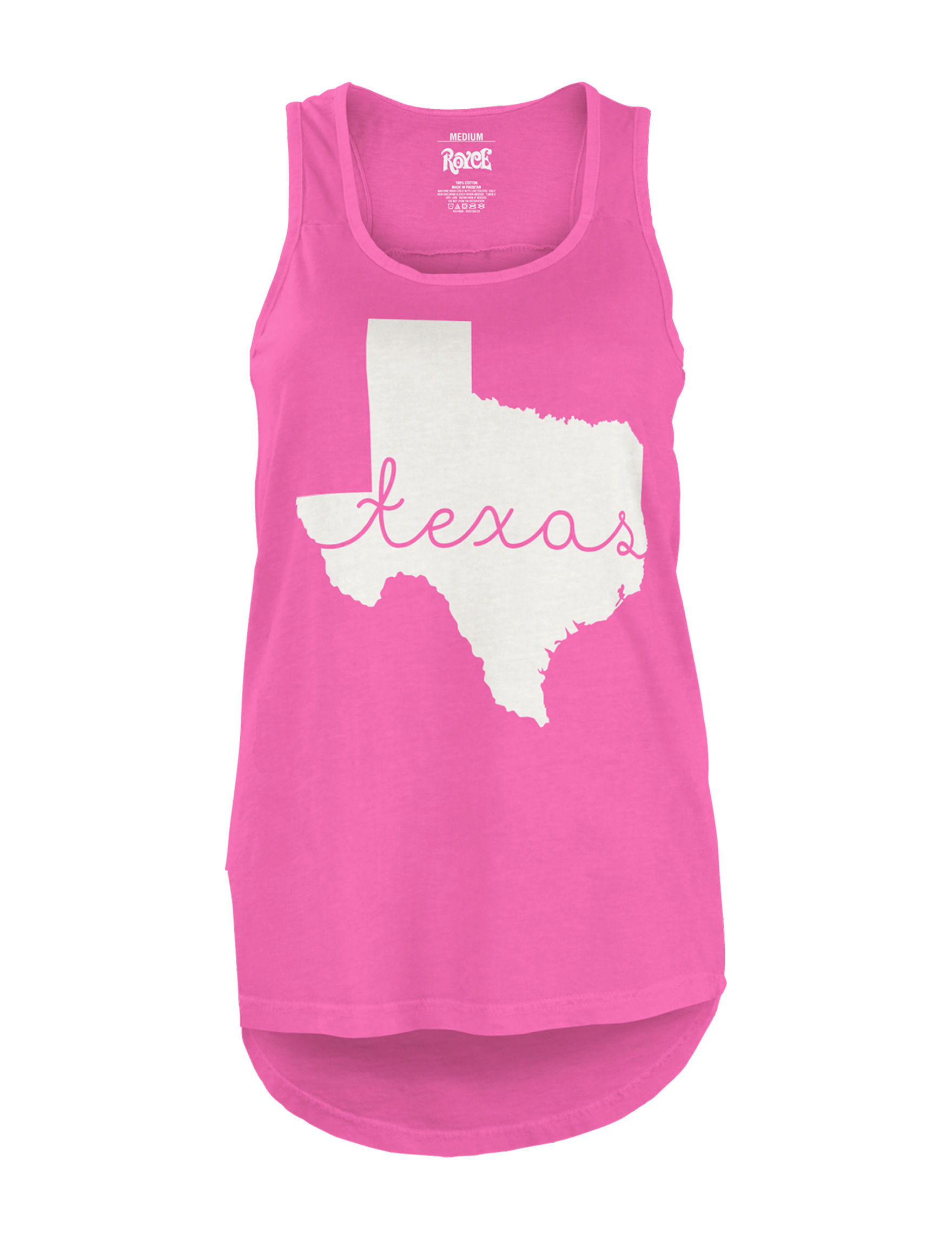 Press Box Pink Tees & Tanks