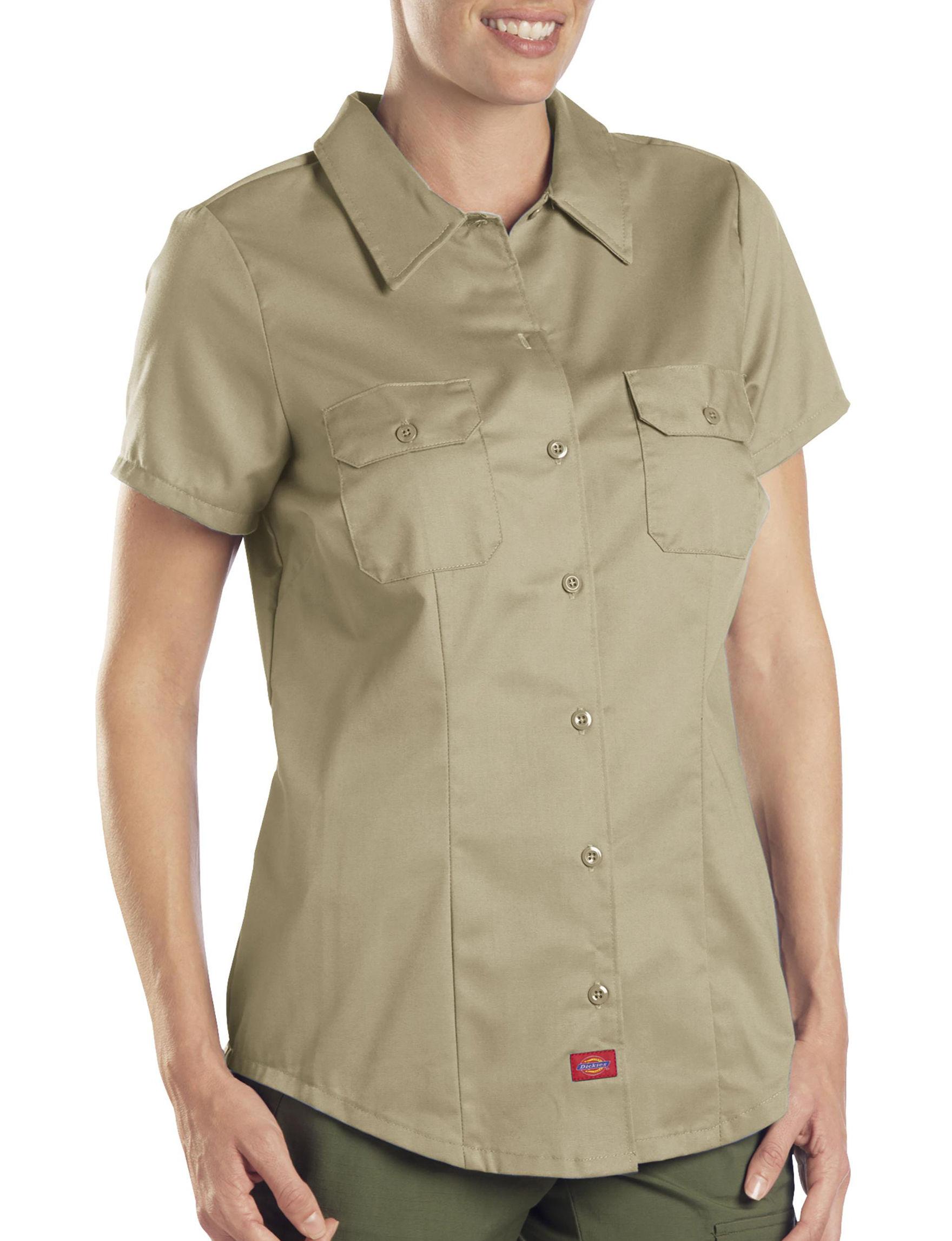 Dickies Khaki Shirts & Blouses