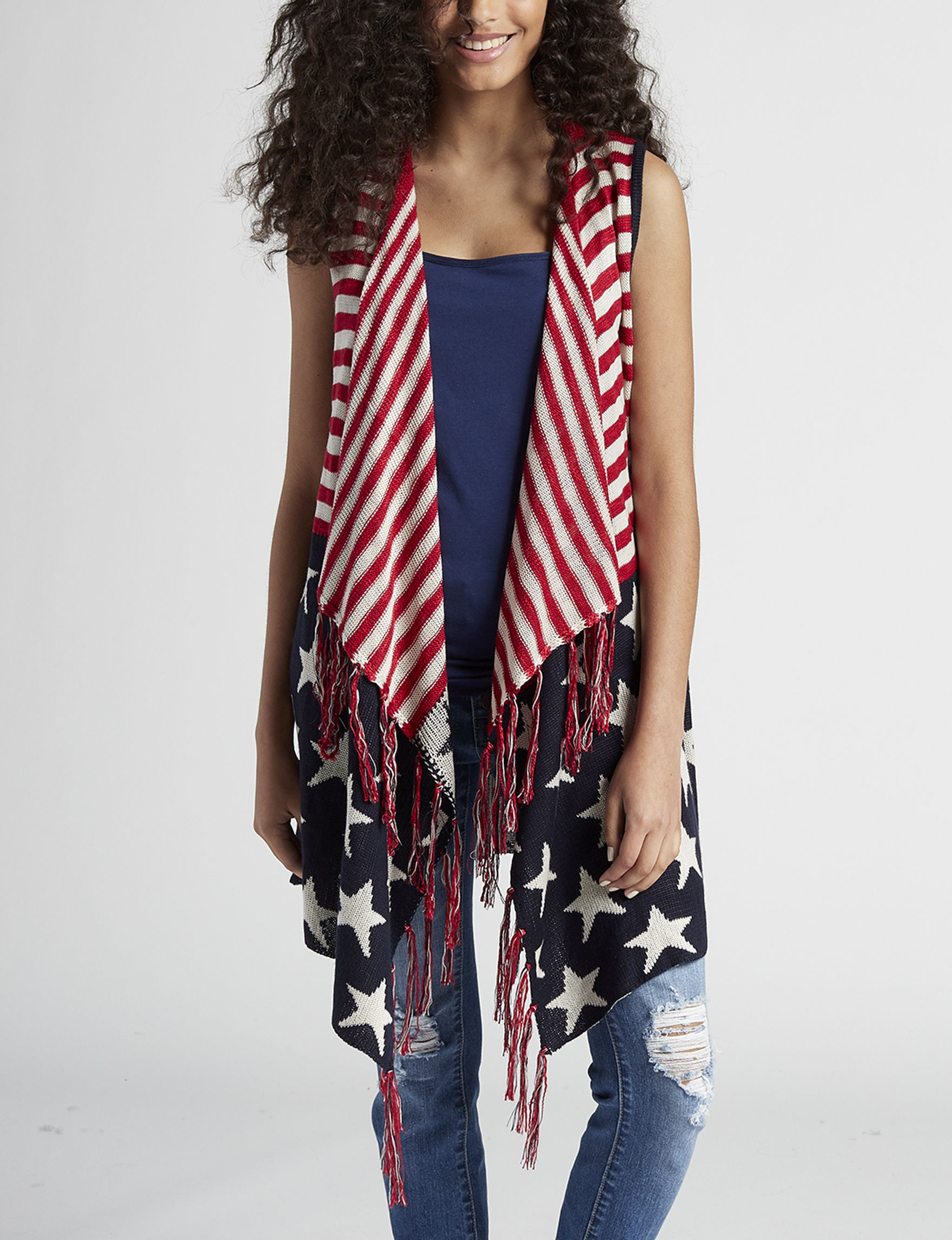 It's Our Time Red / White / Blue Vests